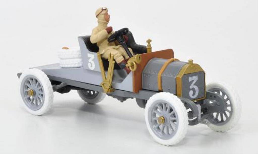 Itala Targa 1/43 STF Florio No.3 grise1906 A.Cagno 1907 miniature