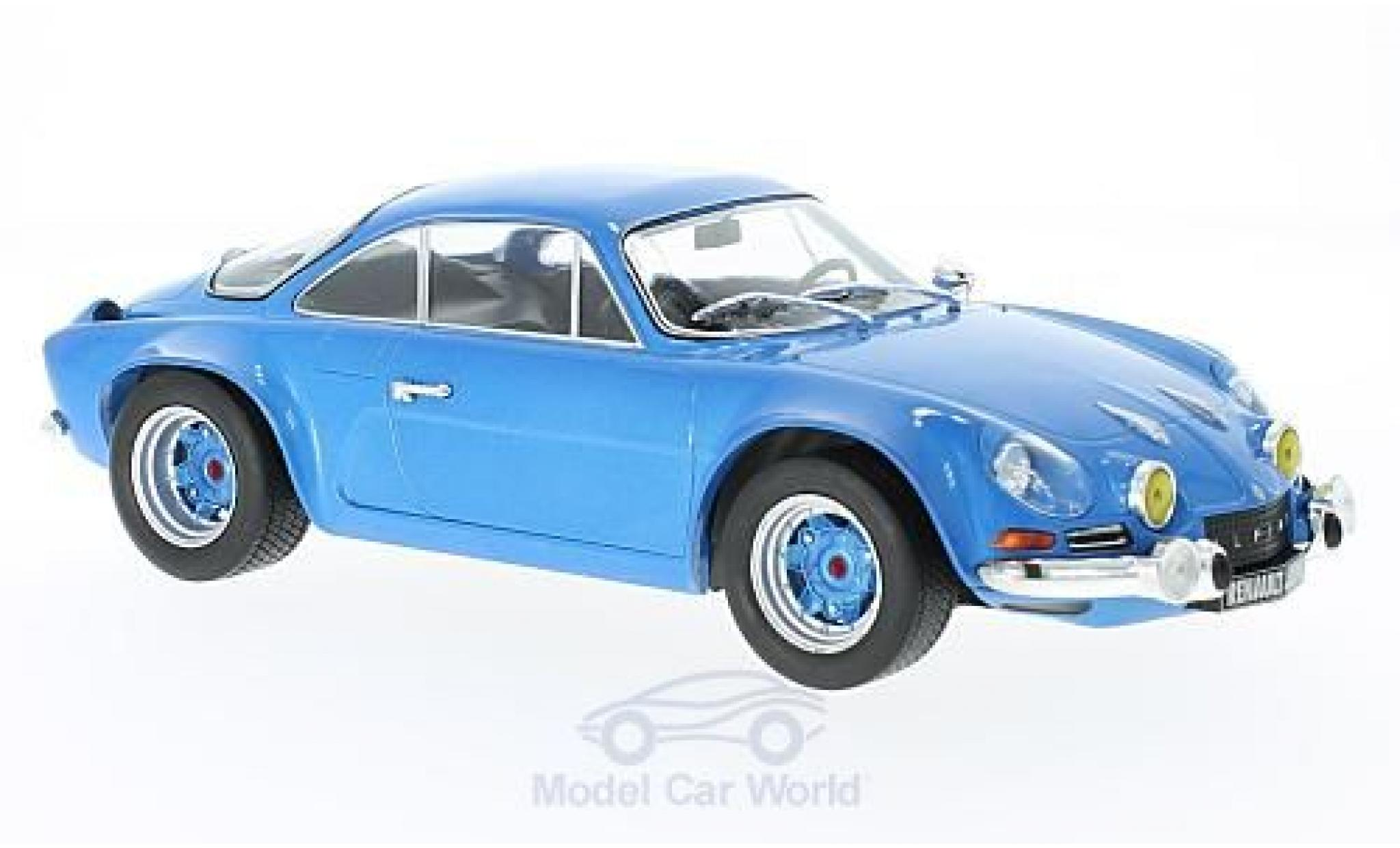 Alpine A110 1/18 IXO Renault A 110 blue 1973