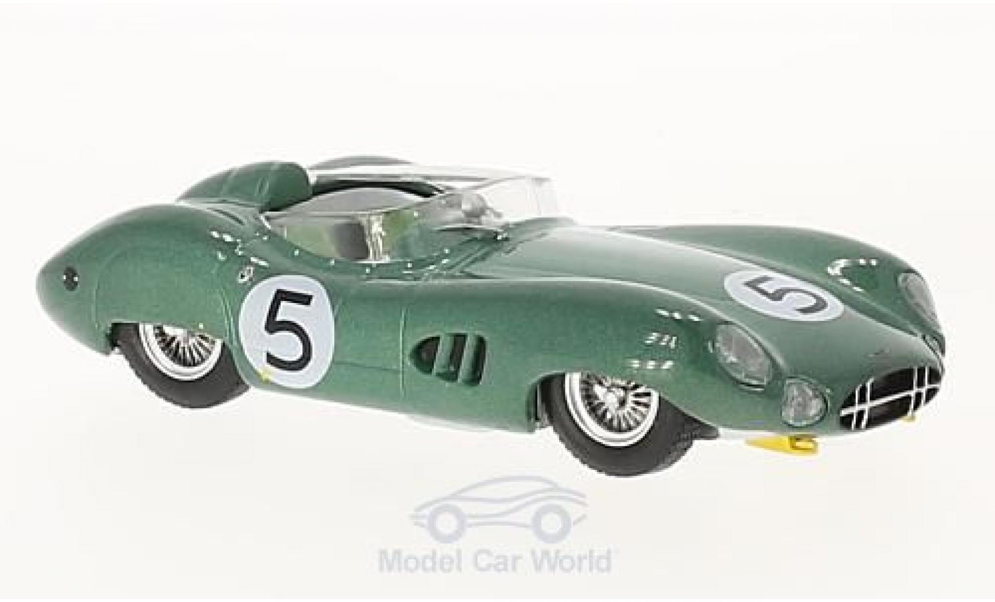 Aston Martin DBR1 1/43 IXO RHD No.5 24h Le Mans 1959 C.Shelby/R.Salvadori