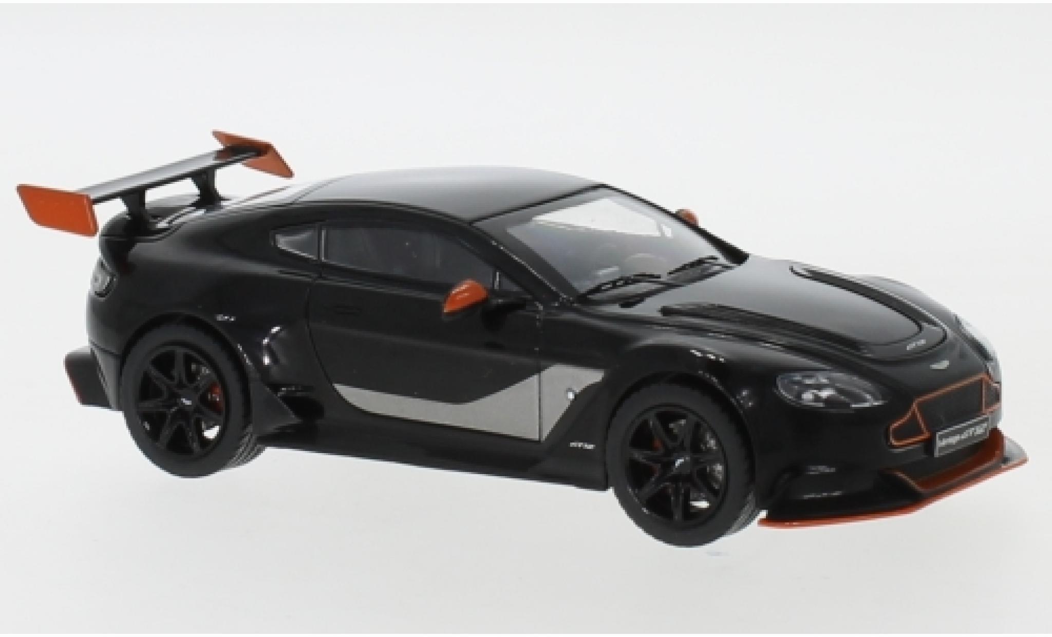 Aston Martin Vantage 1/43 IXO GT 12 black/orange 2015