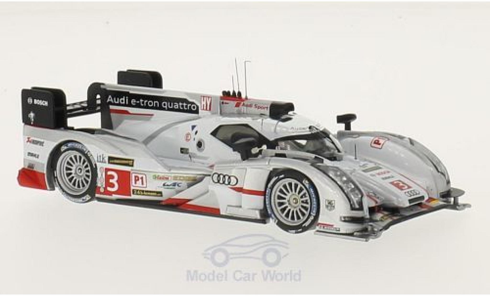 Audi R18 1/43 IXO E-Tron quattro No.3 24h Le Mans 2013 L.Di Grassi/M.Gene/O.Jarvis