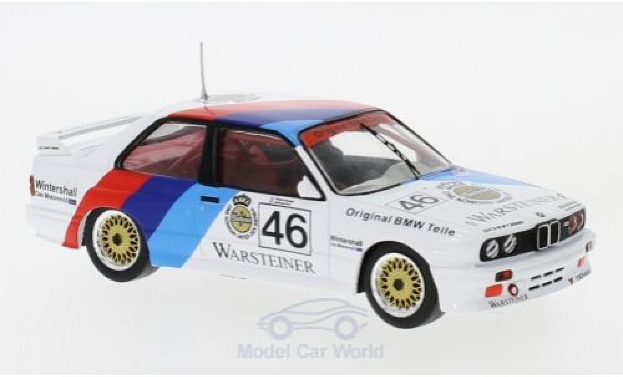 Bmw M3 E30 1/43 IXO BMW (E30) No.46 BMW Motorsport WTCC 1987 E.Pirro/R.Ravaglia
