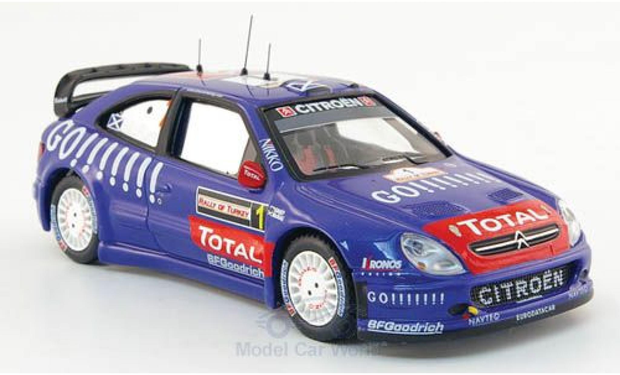 Citroen Xsara 1/43 IXO WRC No.1 Rally Türkei 2006 C.McRae/N.Grist