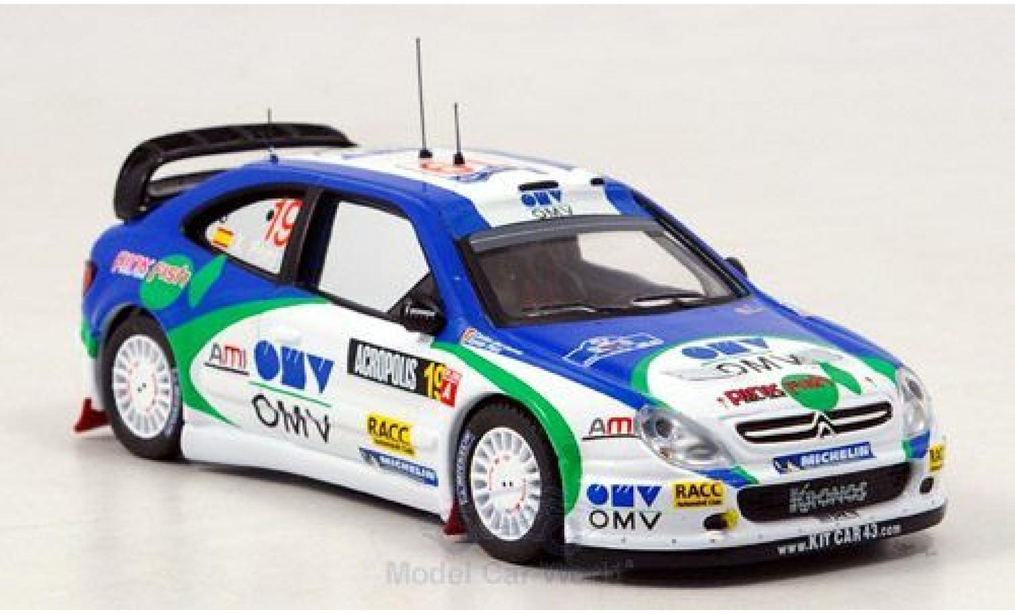 Citroen Xsara 1/43 IXO WRC No.19 Rallye Acropolis 2005 Pons/del Barrio