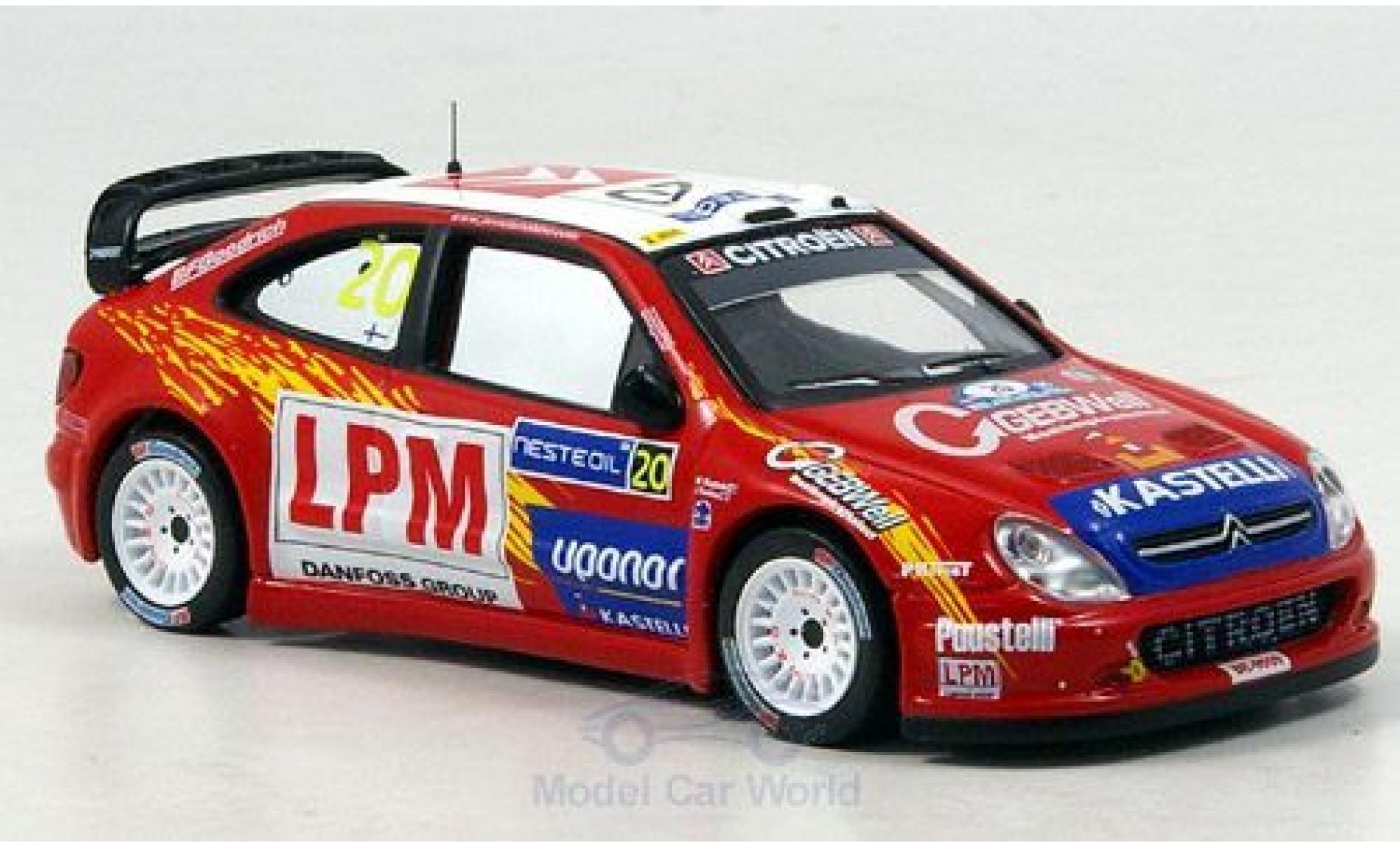 Citroen Xsara 1/43 IXO WRC No.20 Rallye WM Rallye Finnland 2006 Tuohino