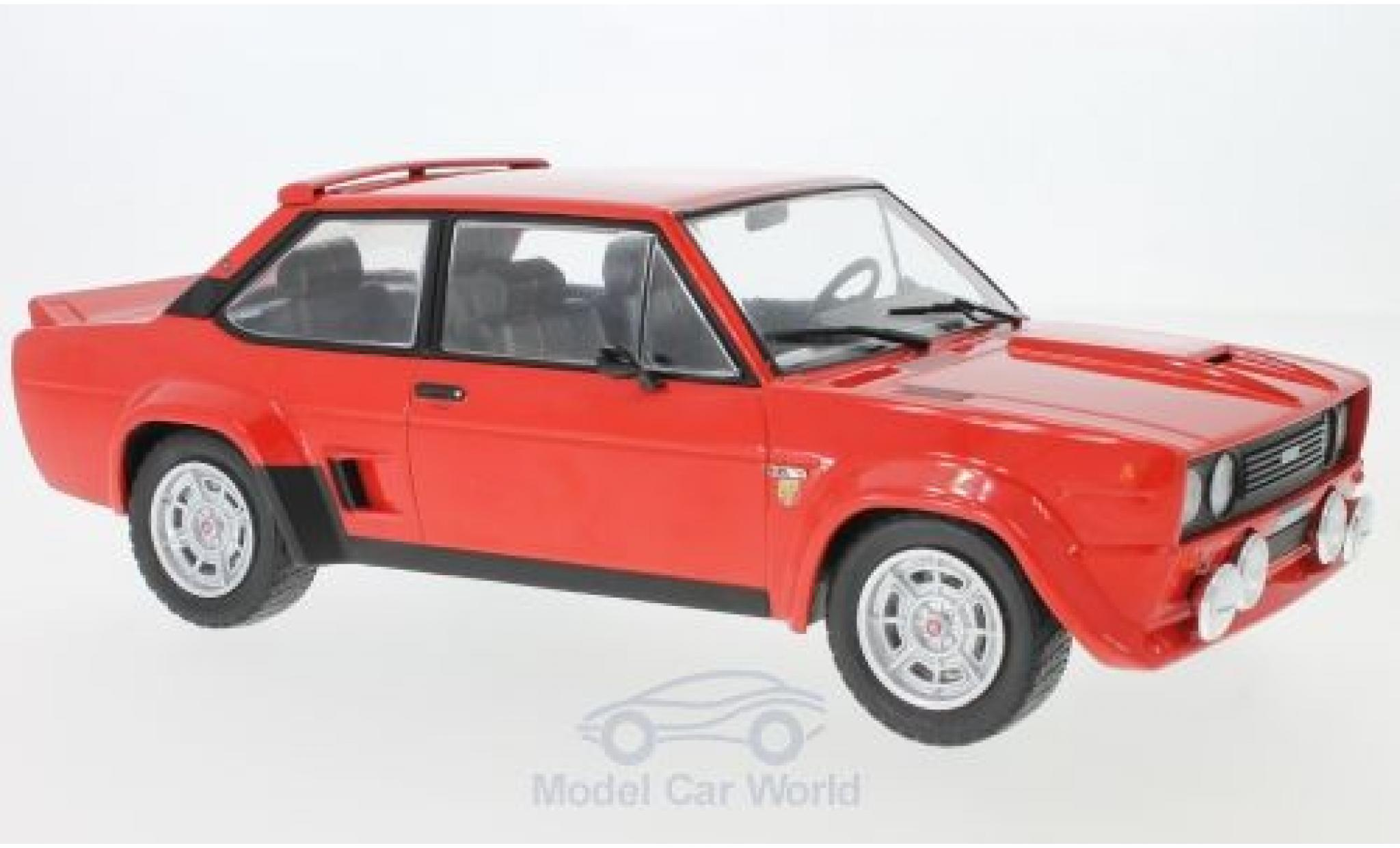 Fiat 131 Abarth 1/18 IXO red 1980