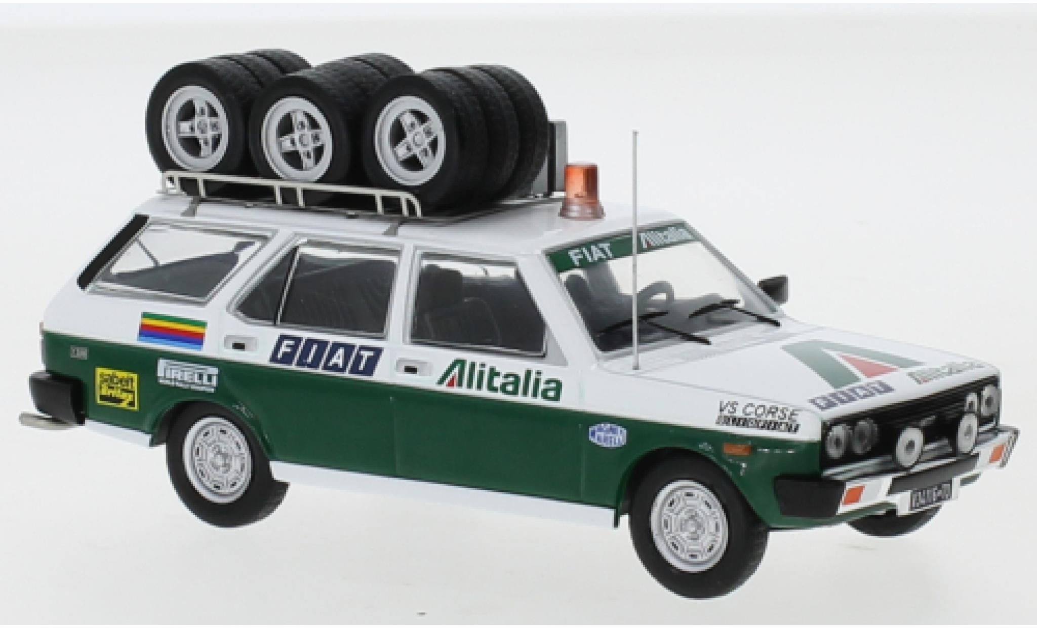 Fiat 131 1/43 IXO Panorama Alitalia 1979 Assistance