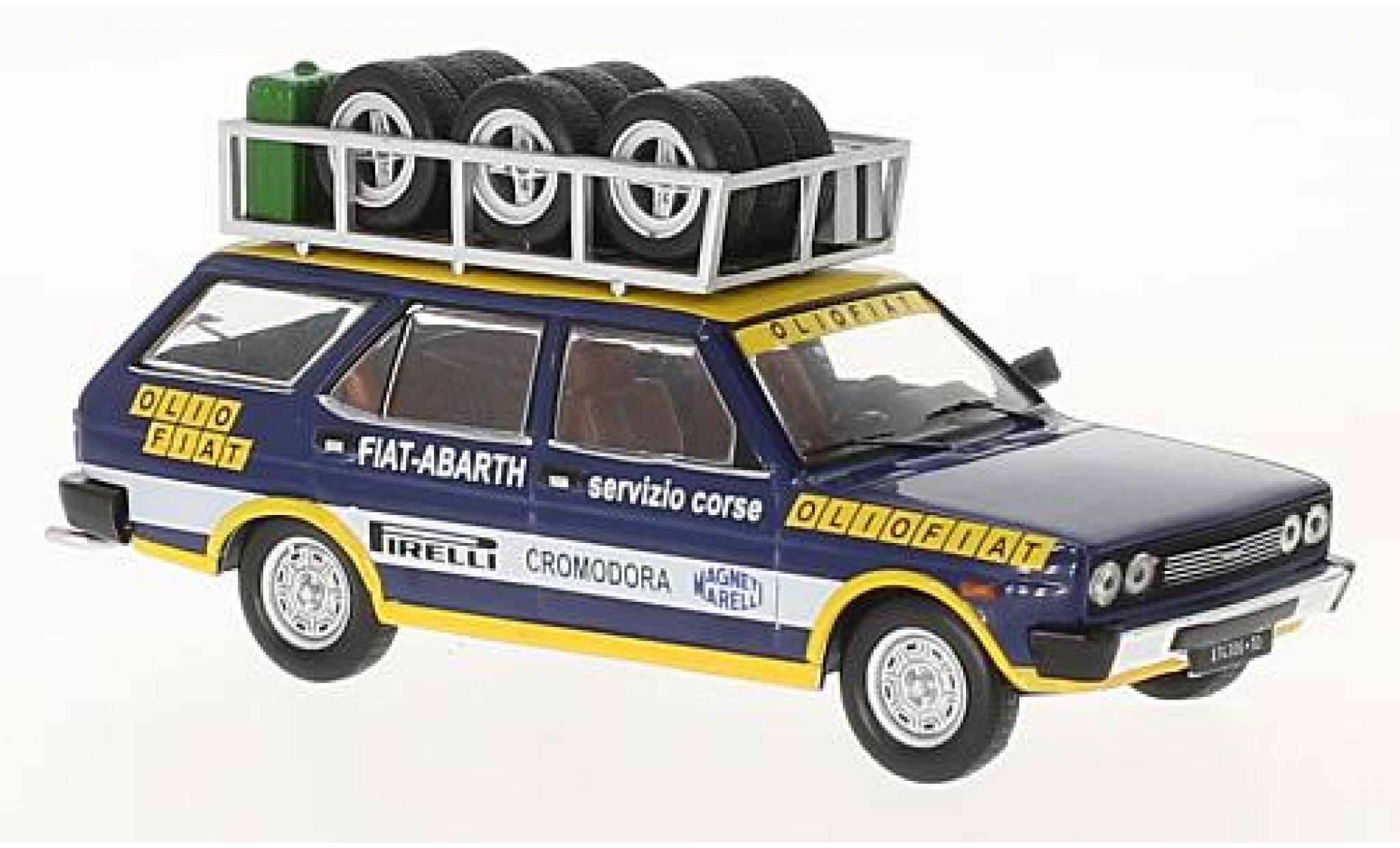 Fiat 131 1/43 IXO Panorama Olio Flat 1975 Rallye Assistance