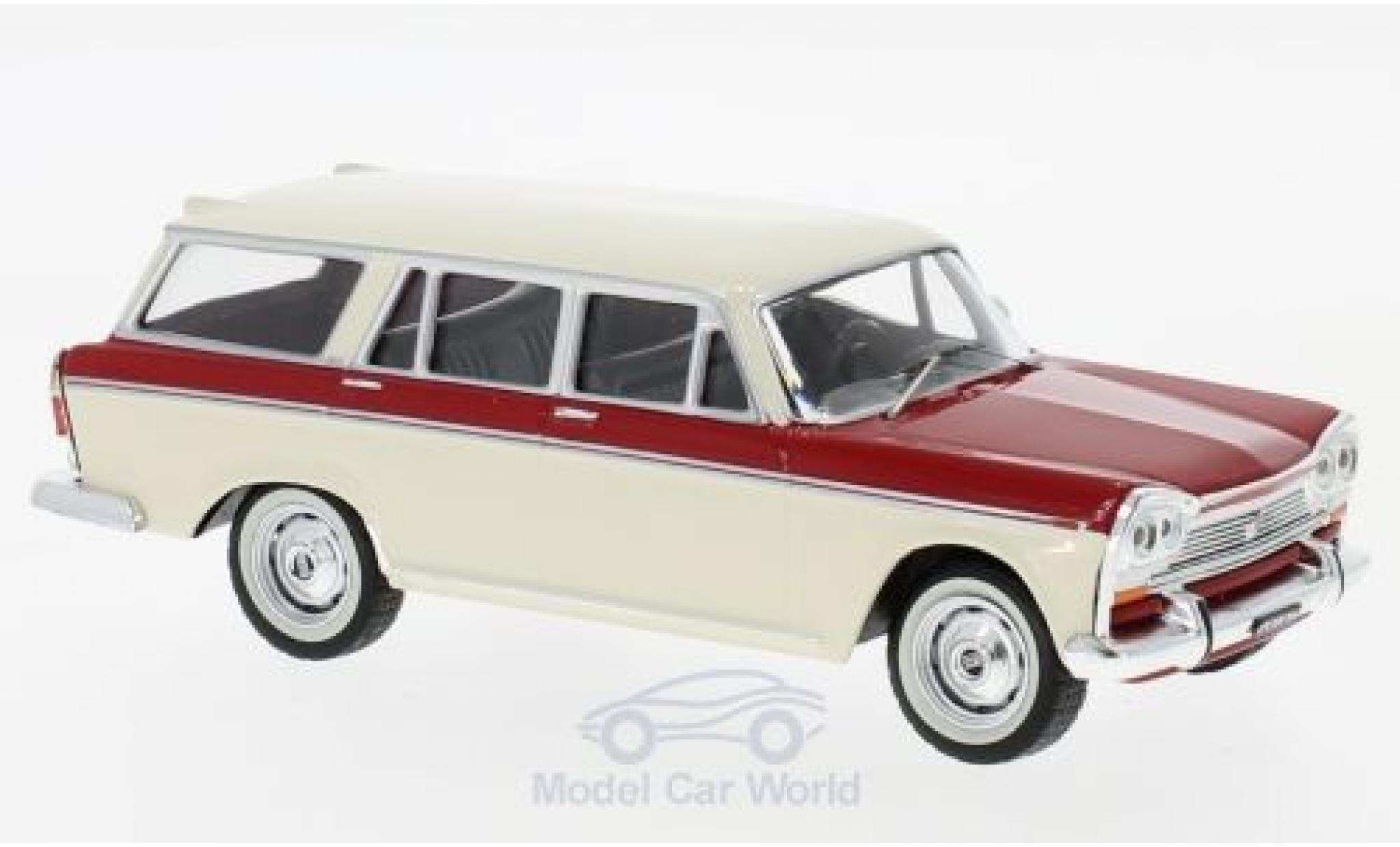 Fiat 2300 1/43 IXO Familiare hellbeige/red 1965