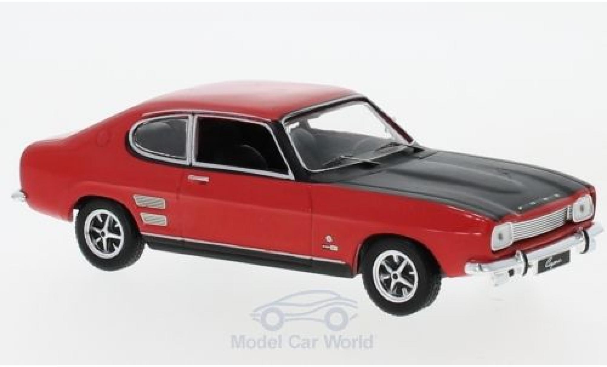 Ford Capri 1/43 IXO MKI 1700 GT rouge/noire 1970