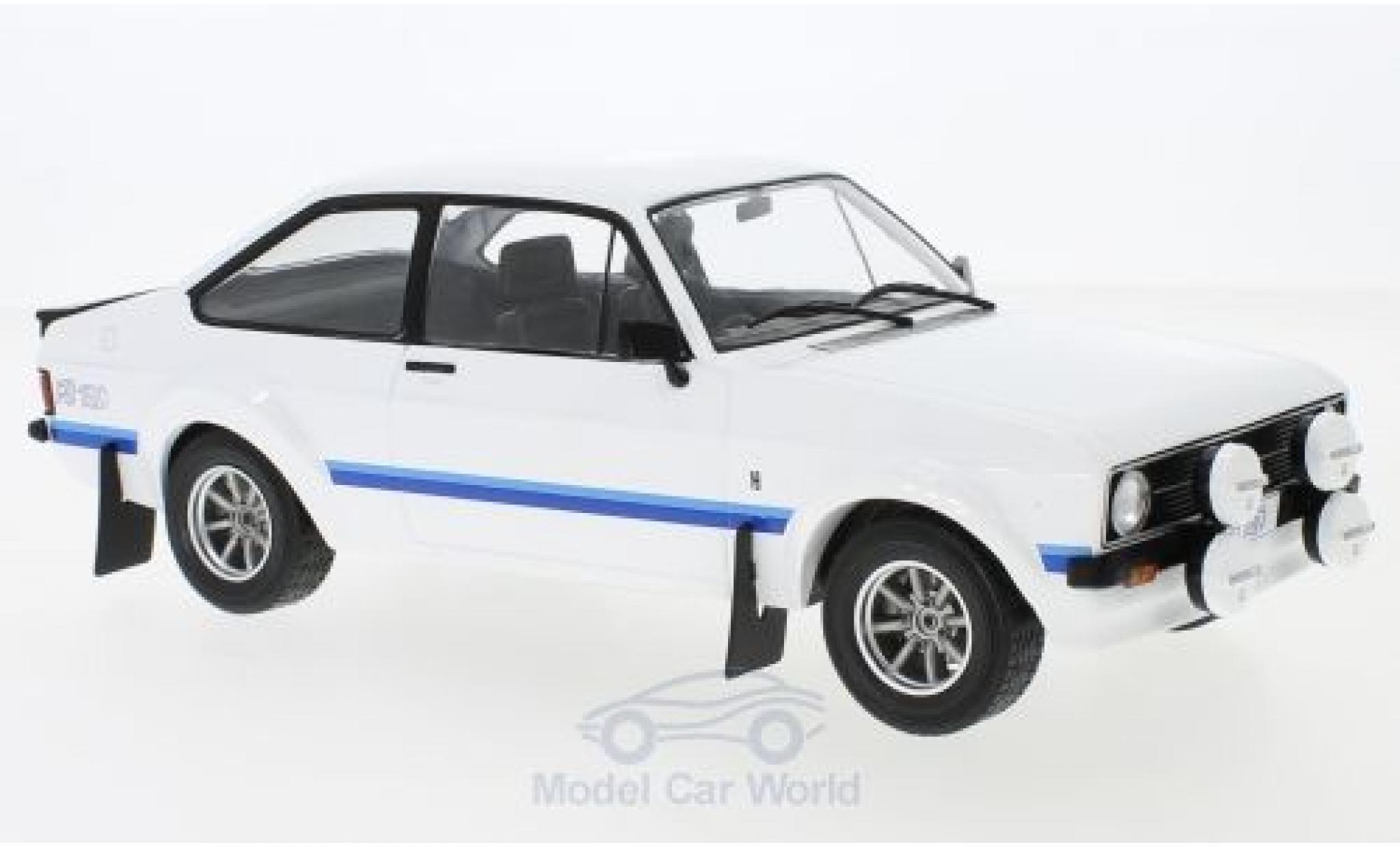 Ford Escort 1/18 IXO MK II RS 1800 blanche RHD 1977