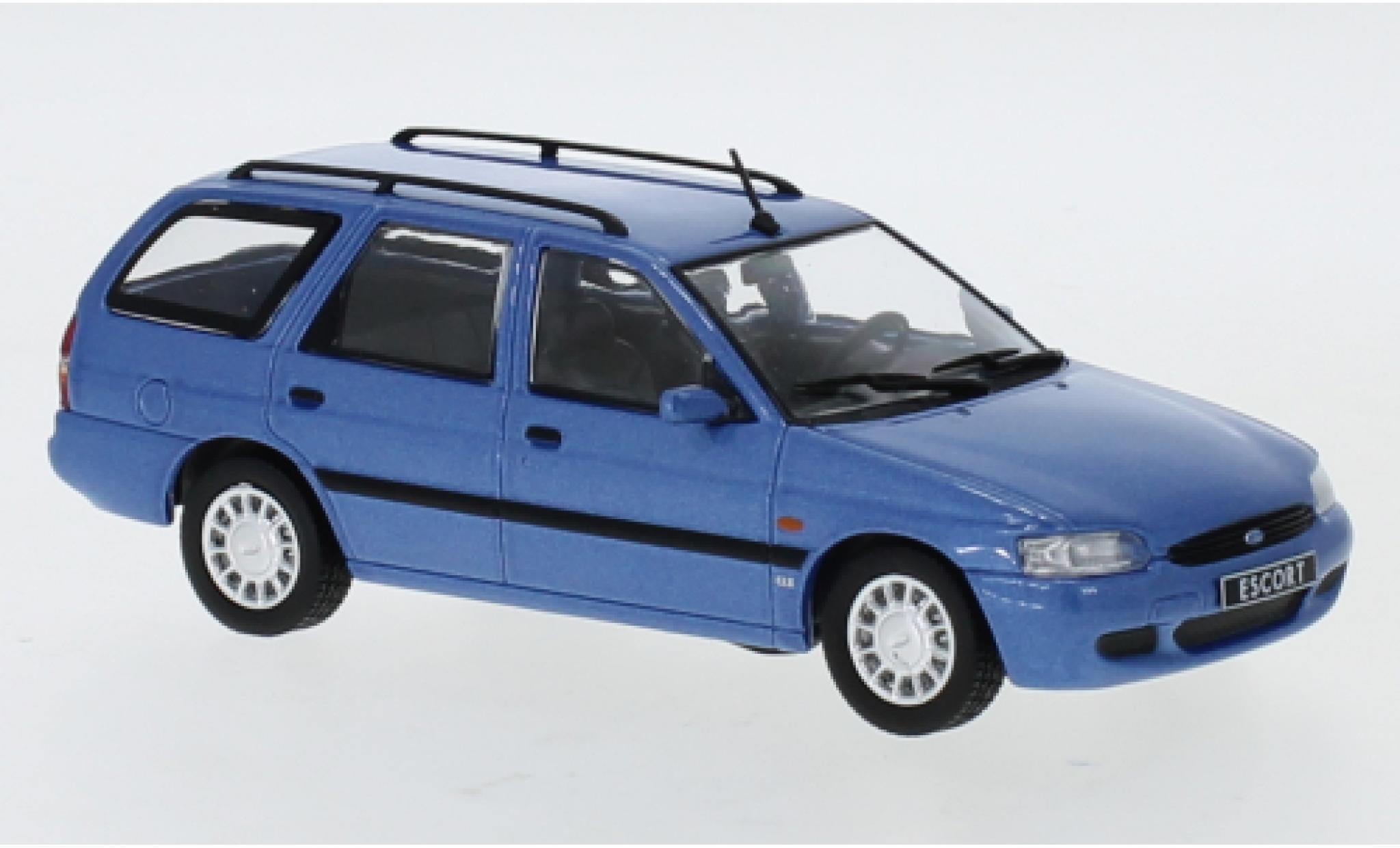 Ford Escort 1/43 IXO Mk VII Turnier metallise bleue 1996