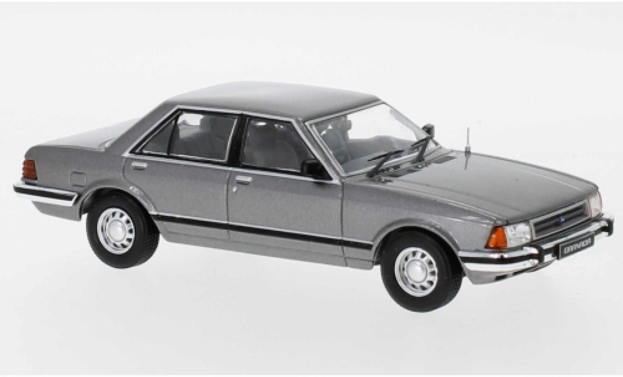 Ford Granada 1/43 IXO MKII 2.8 GL metallise grise RHD 1982