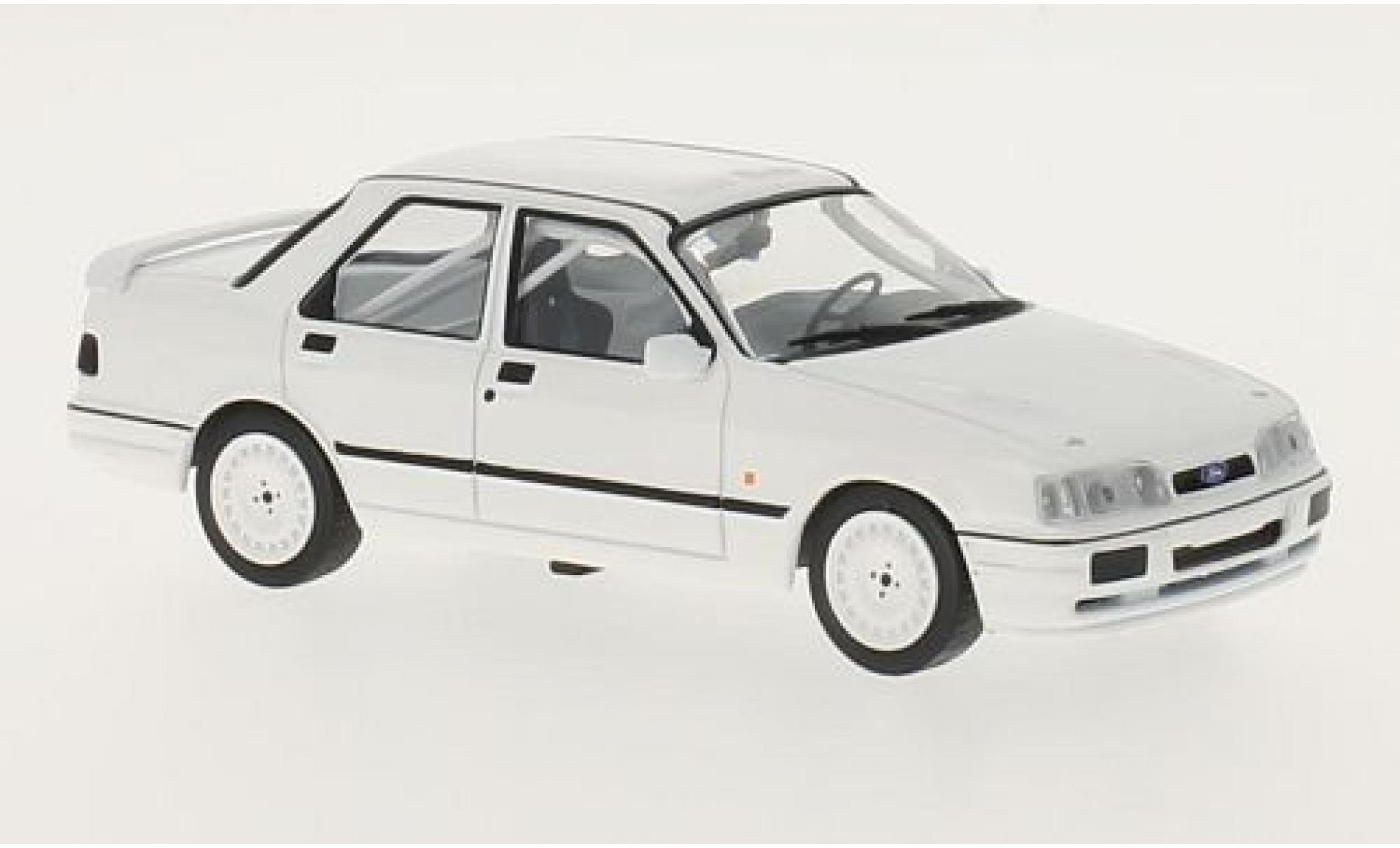 Ford Sierra 1/43 IXO Cosworth 4X4 matt-blanche 1991 Plain Body Version y compris les 4 Ersatzräder
