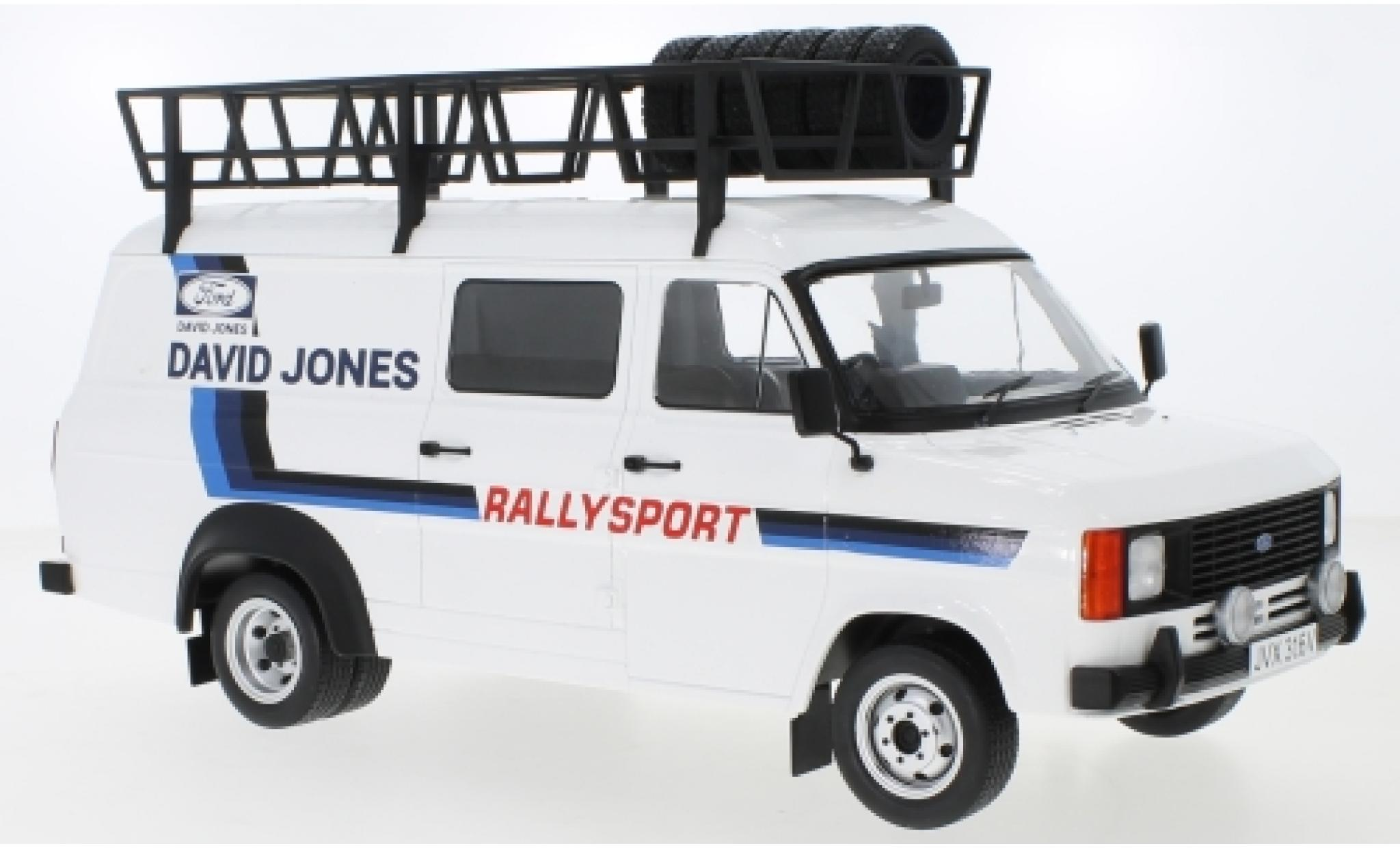 Ford Transit 1/18 IXO MK II David Jones with roof accessories