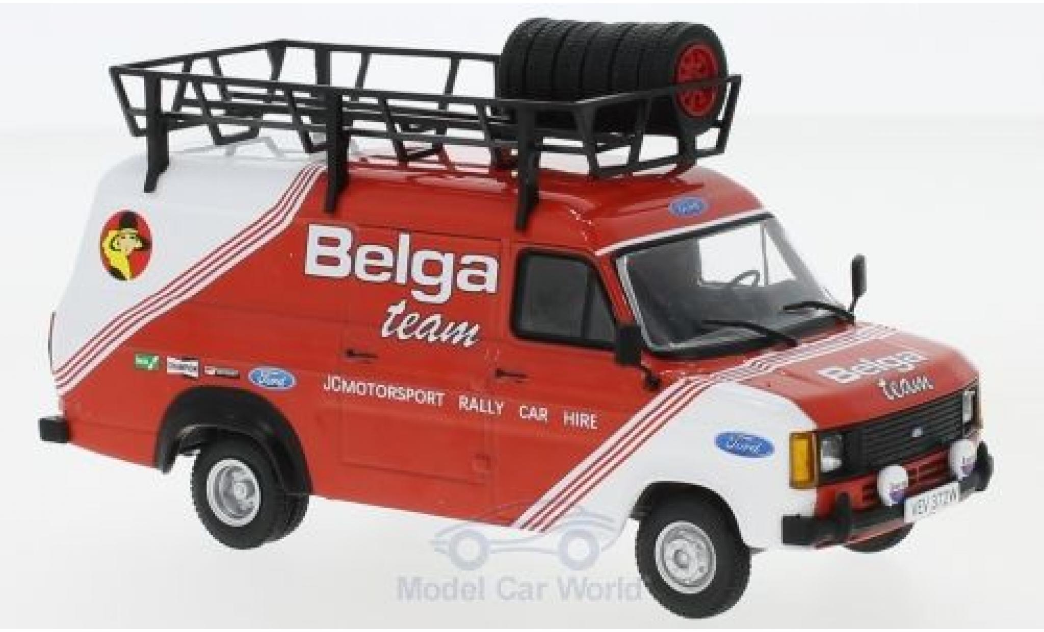 Ford Transit 1/43 IXO MKII Belga Team Belga 1981 Rally Assistance