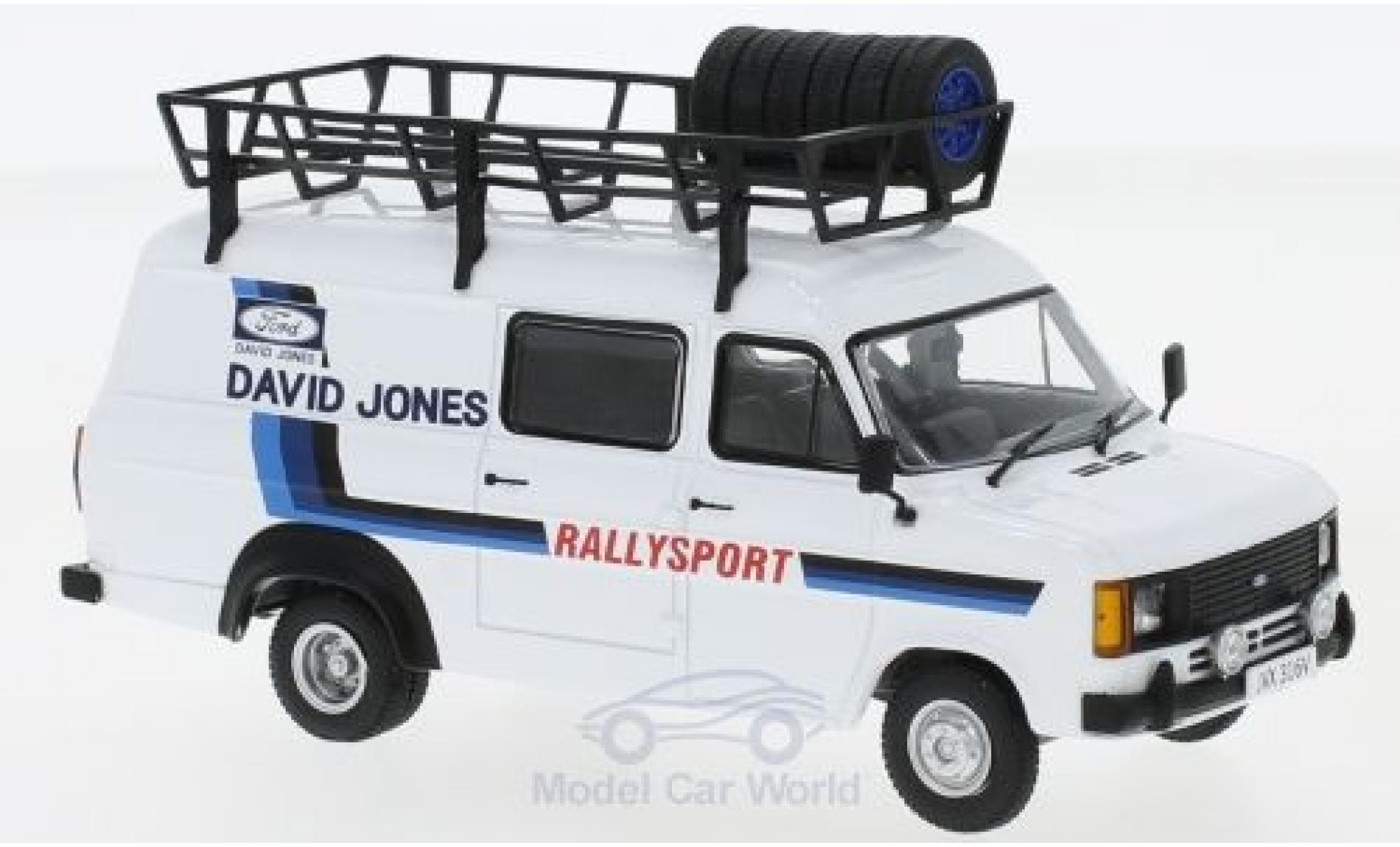 Ford Transit 1/43 IXO MKII RHD David Jones Rallysport David Jones 1980 Rally Assistance