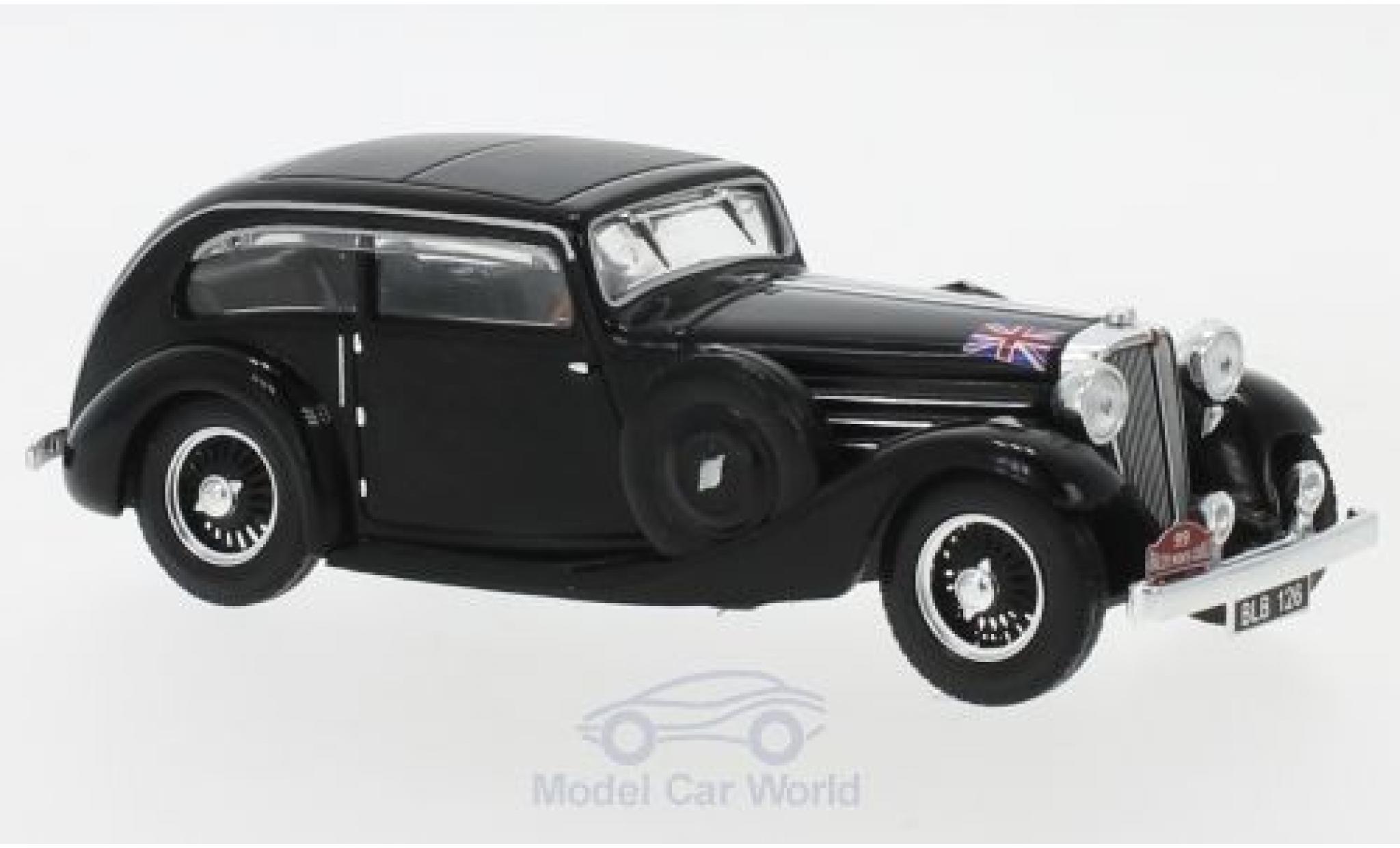 Jaguar SS 1/43 IXO 1 Airline Coupe RHD No.99 Rallye Monte Carlo 1935 Sydney H. Light