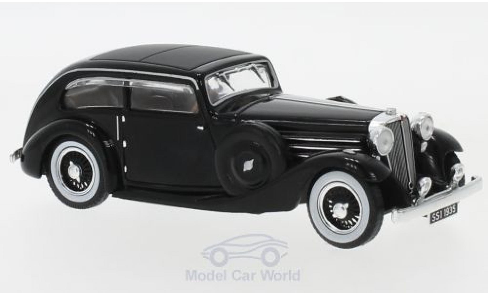 Jaguar SS 1/43 IXO 1 Airline Coupe black RHD 1935