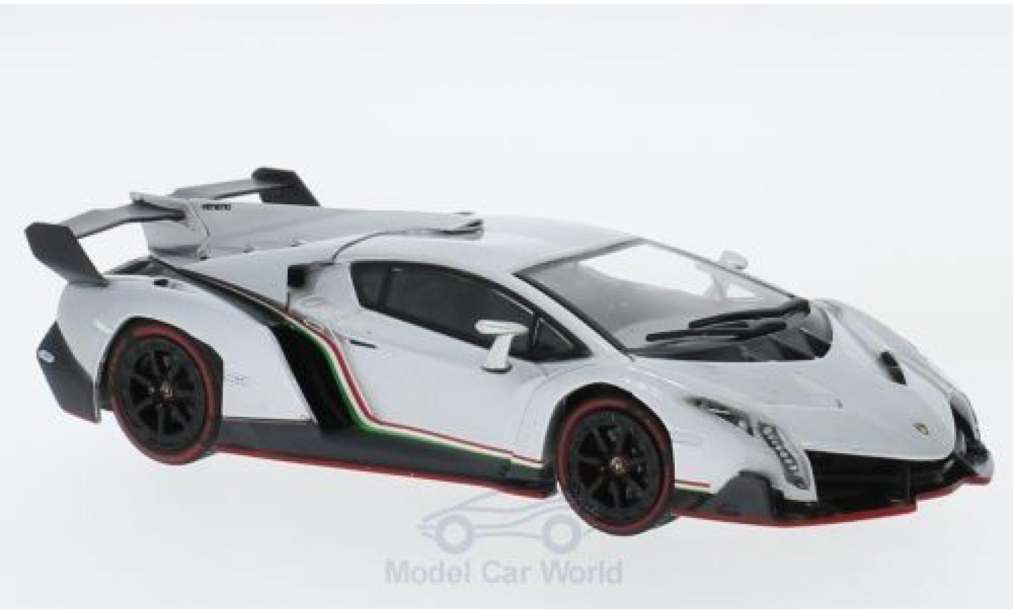Lamborghini Veneno 1/43 IXO grise 2013