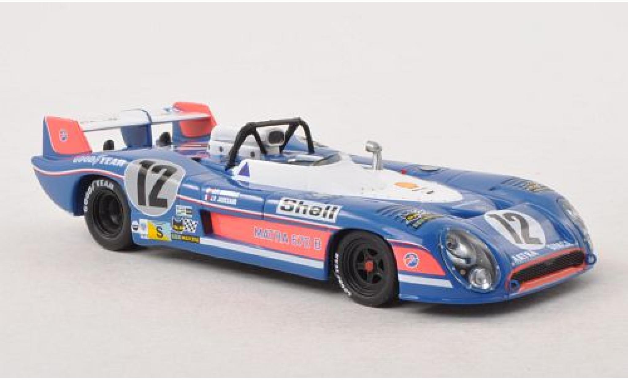 Matra MS670B 1/43 IXO MS Le Mans 24h Le Mans 1973 J.P.Jaussaud/Jabouille
