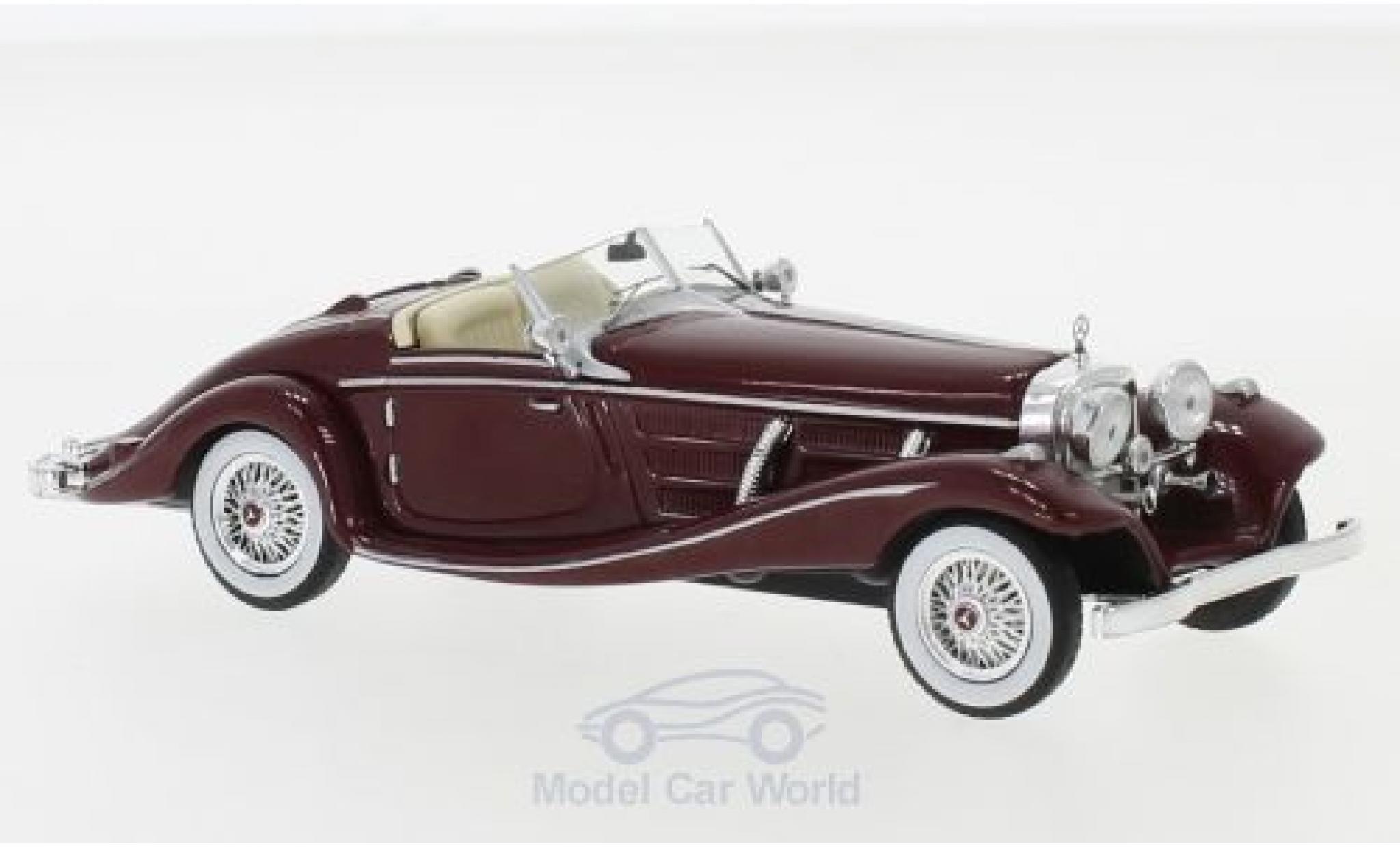 Mercedes 540 1/43 IXO K Spezial Roadster (W29) rouge 1936