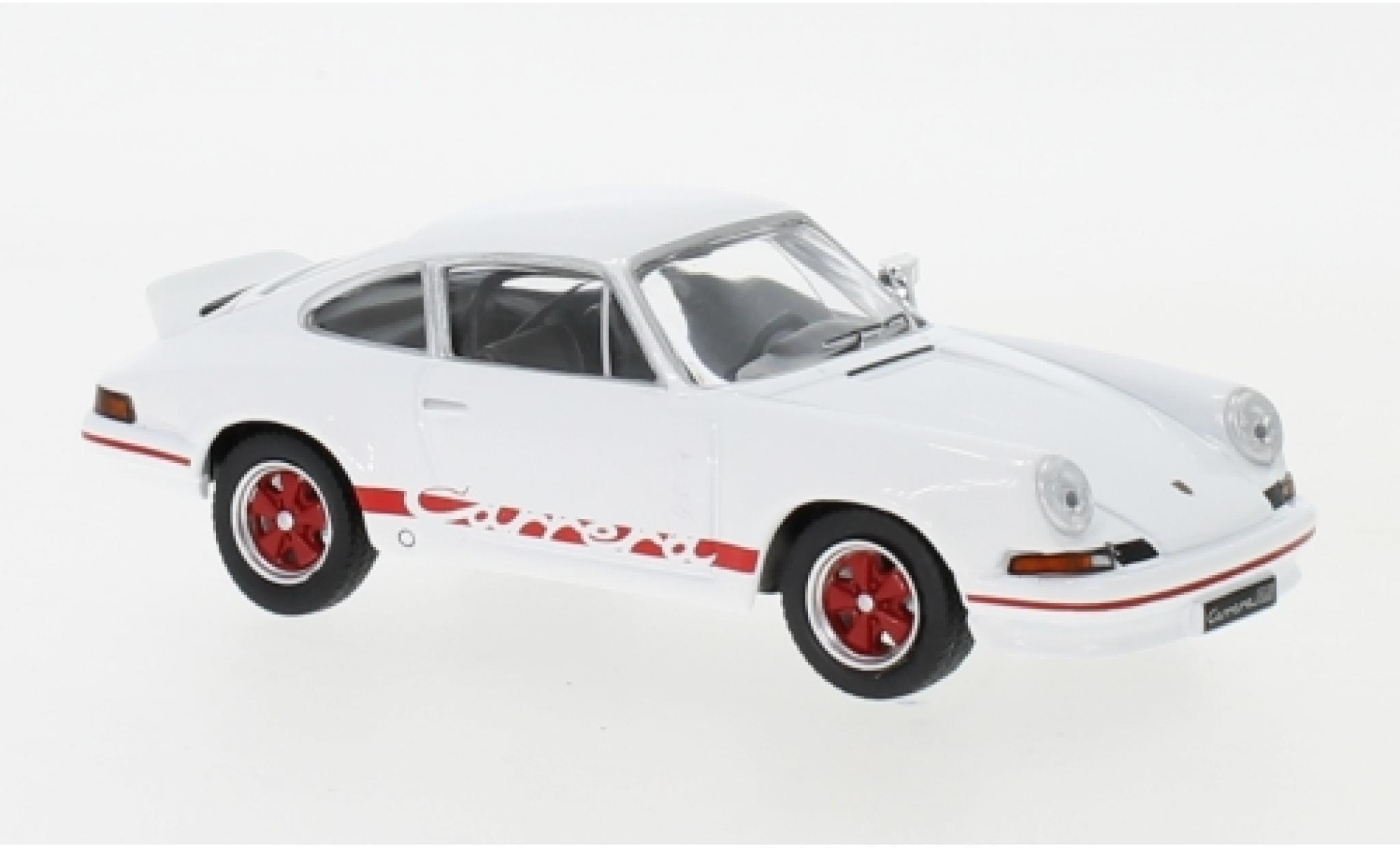 Porsche 911 RS 1/43 IXO Carrera 2.7 white/red 1973