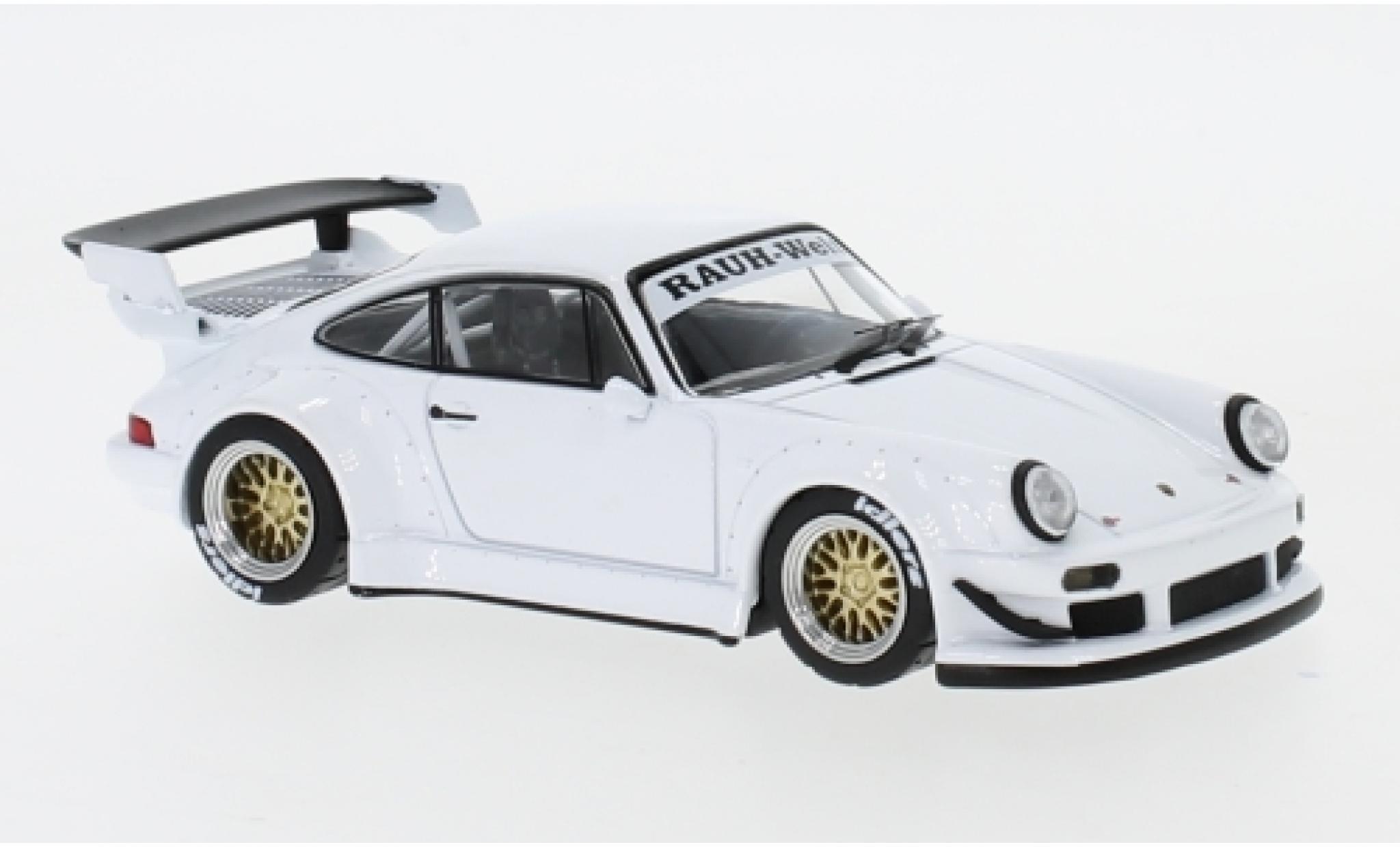 Porsche 930 RWB 1/43 IXO blanche