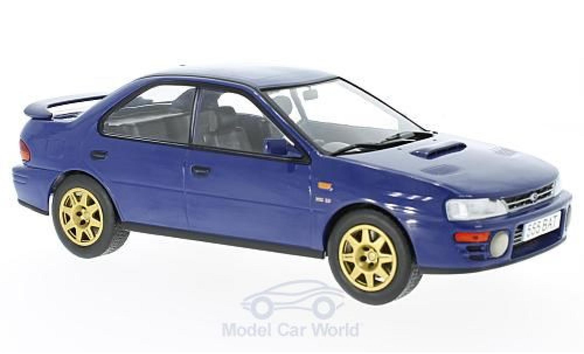 Subaru Impreza WRX 1/18 IXO WRX blue RHD 1995