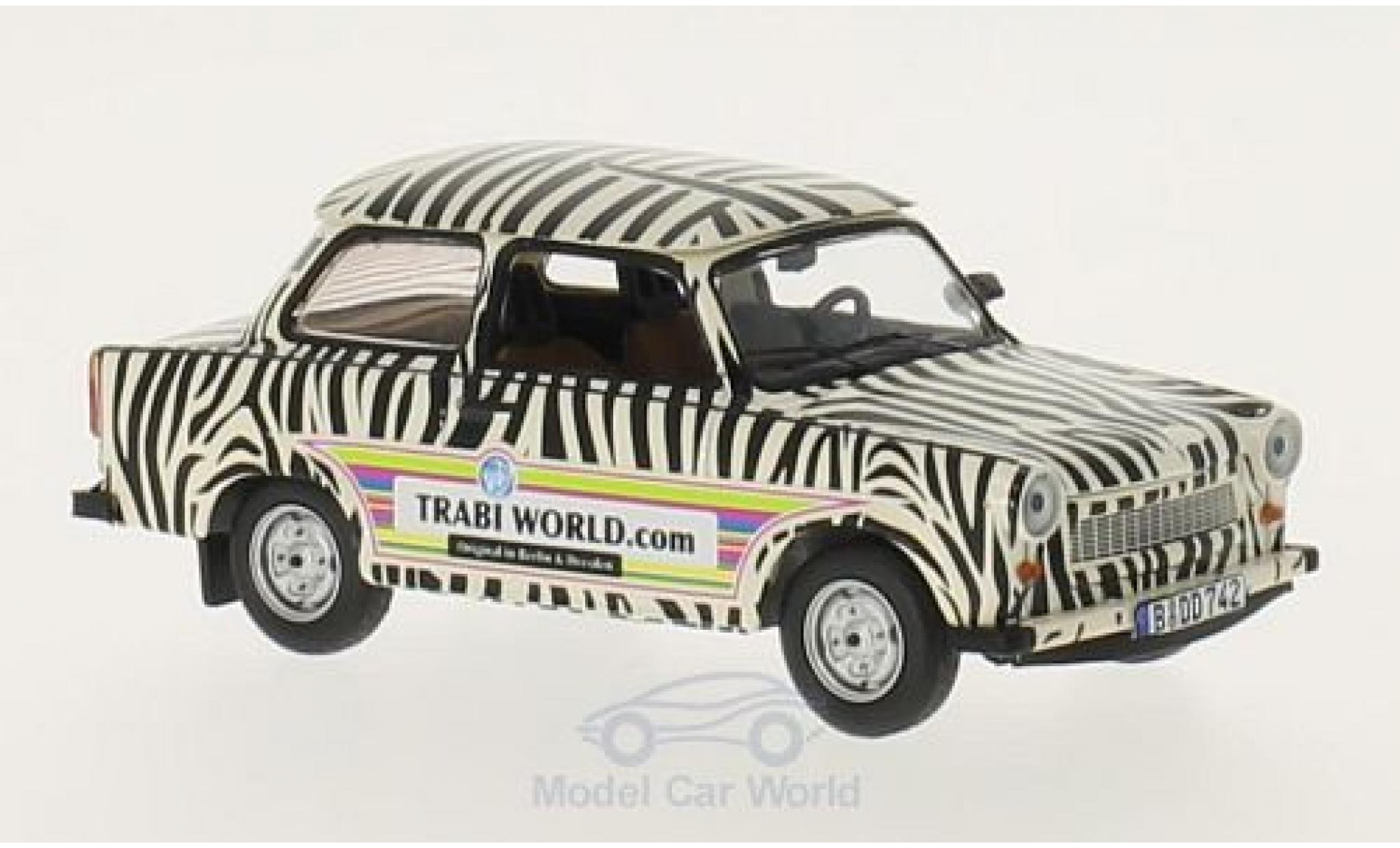 Trabant 601 1/43 IXO TrabiWorld.com 1970