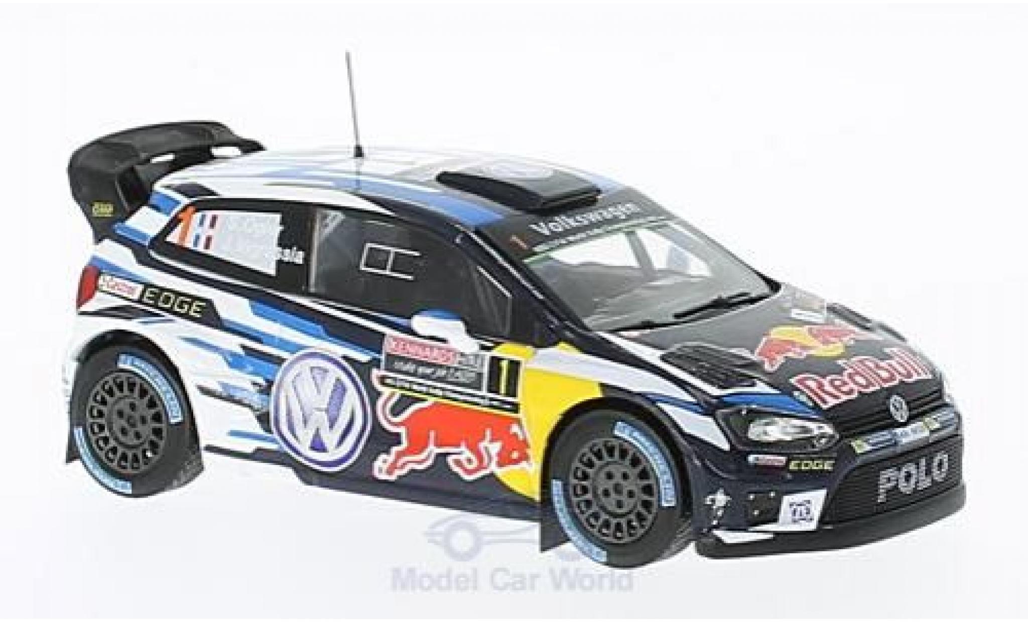 Volkswagen Polo 1/43 IXO R WRC No.1 Motorsport Red Bull Rallye WM Rallye Australien 2016 S.Ogier/J.Ingrassia