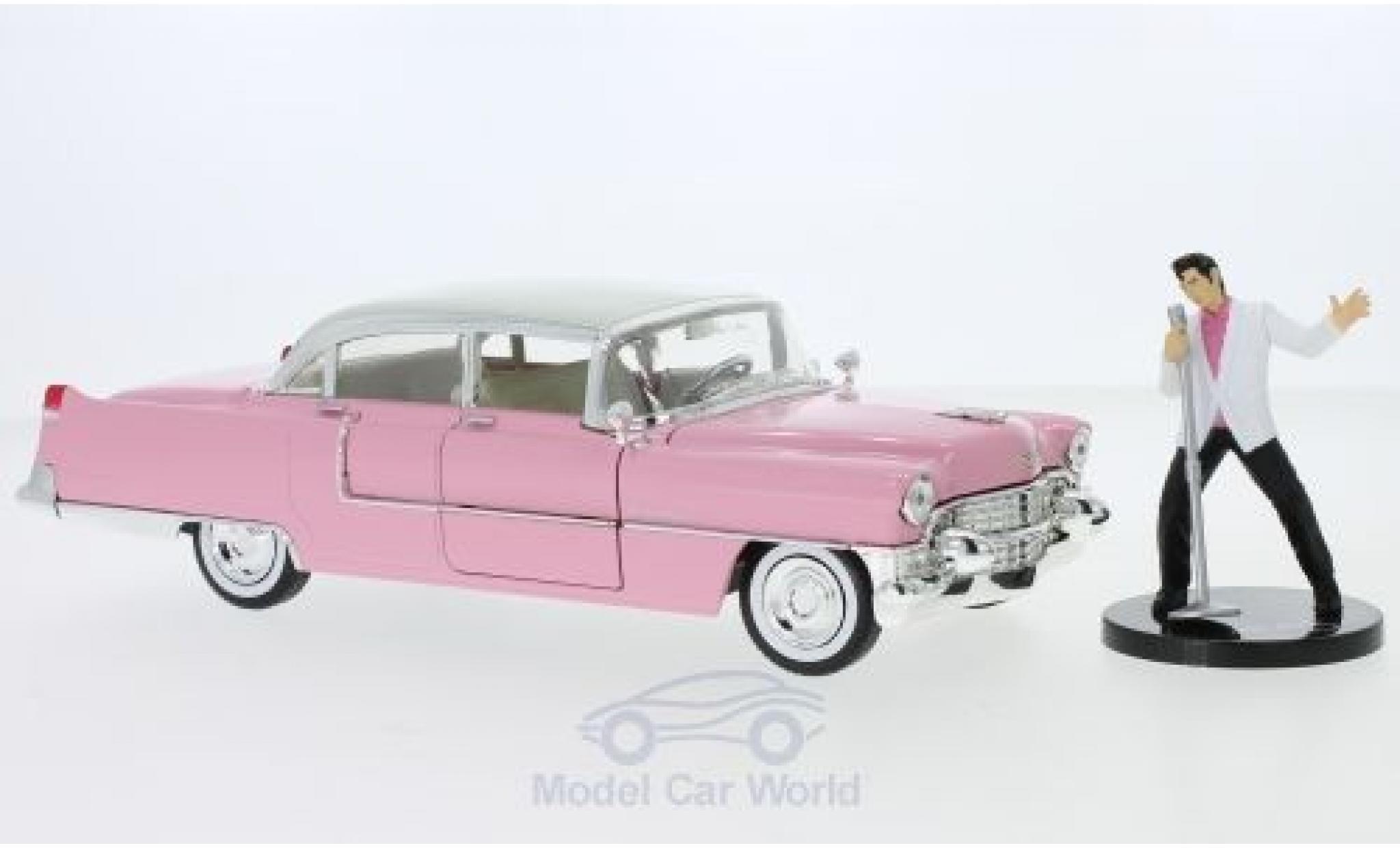 Cadillac Fleetwood 1/24 Jada Toys Toys Toys Toys Elvis Presley 1955 mit Figur