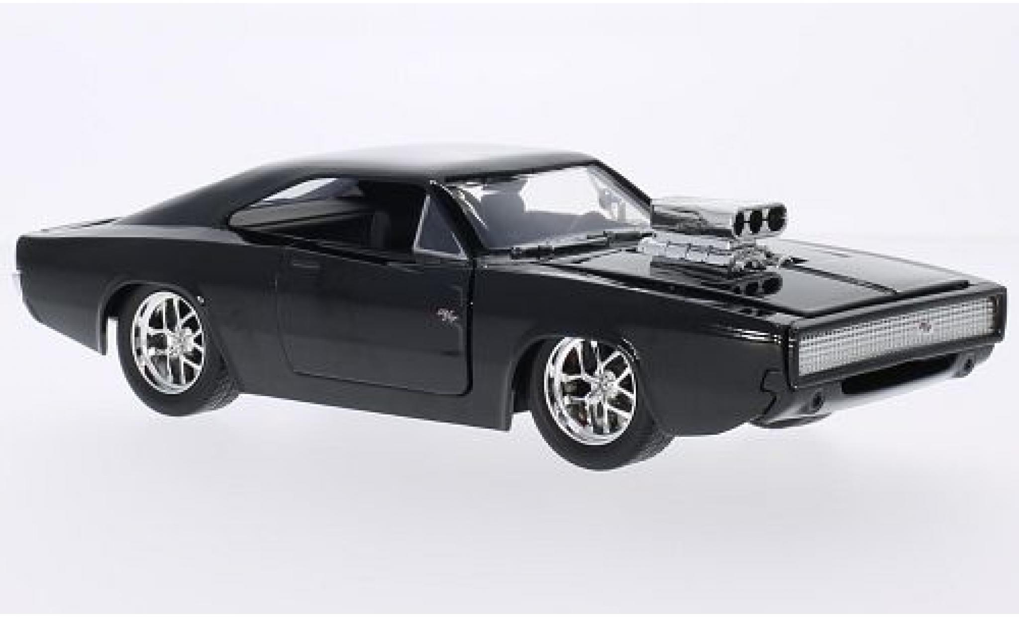 Dodge Charger 1/24 Jada R/T Tuning noire Fast & Furious 1970