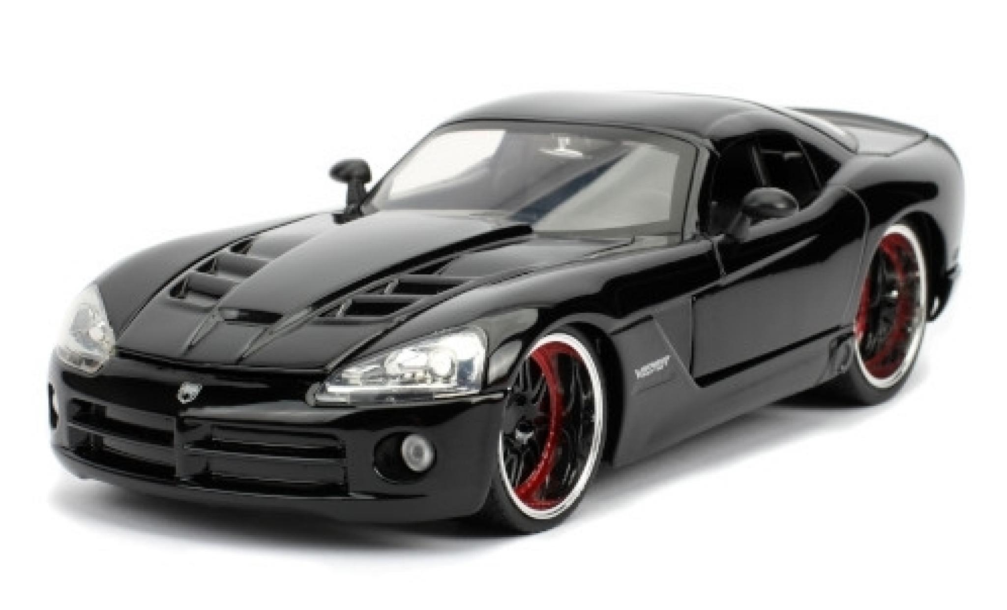 Dodge Viper 1/24 Jada t SRT-10 Tuning noire Fast & Furious