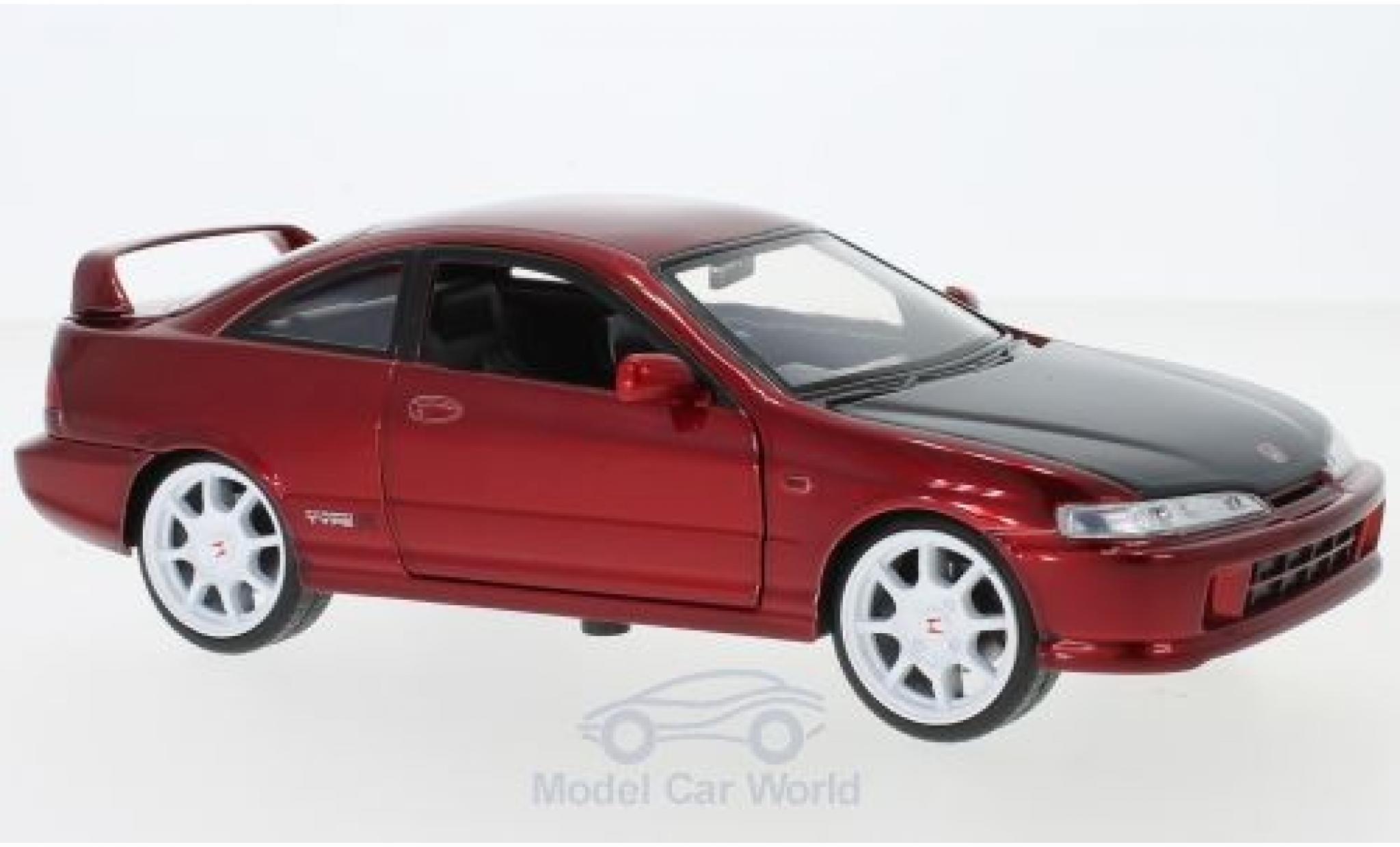 Honda Integra 1/24 Jada Toys Toys Toys Toys Type R rouge 1995