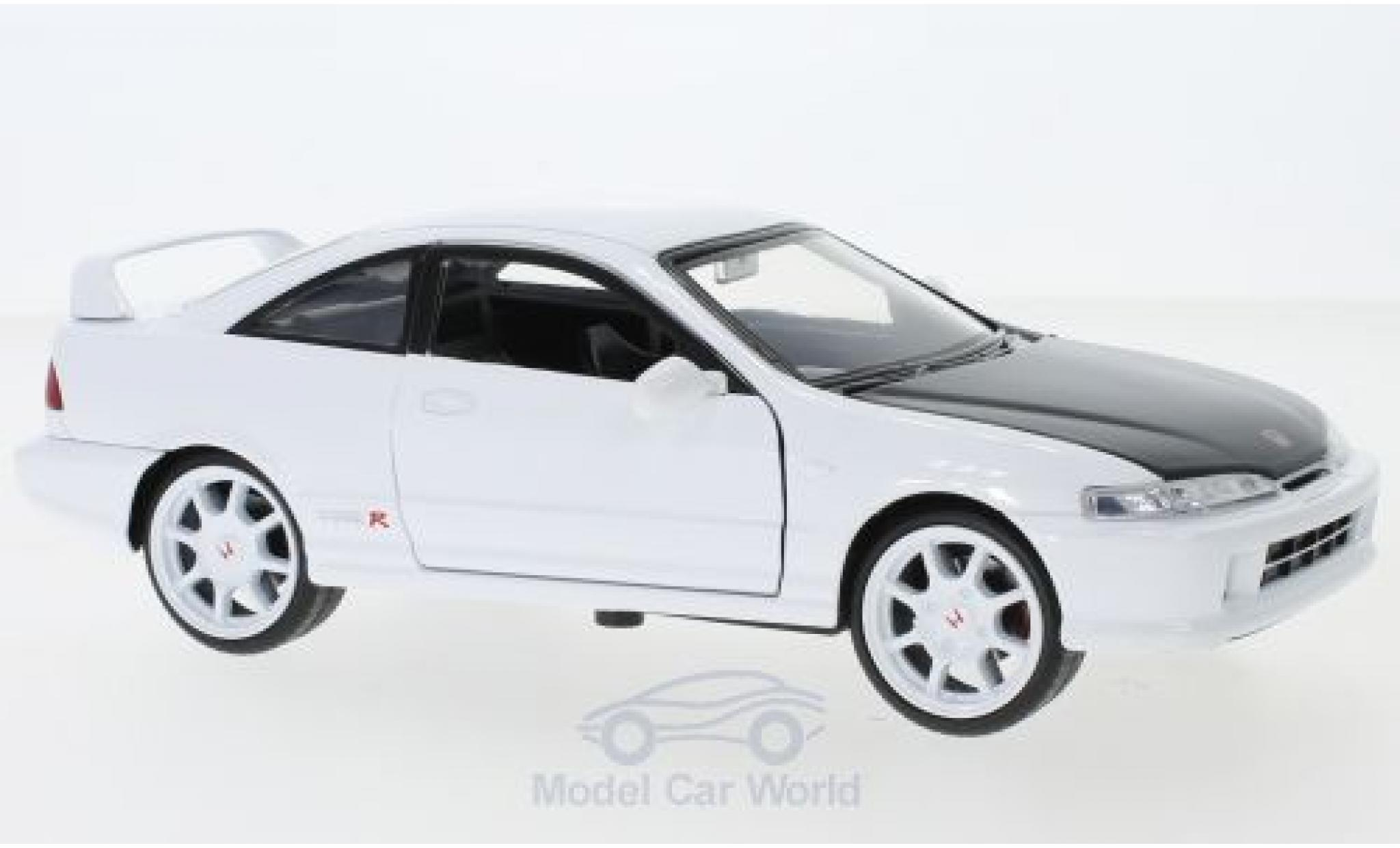 Honda Integra 1/24 Jada Toys Toys Toys Toys Type R blanche 1995