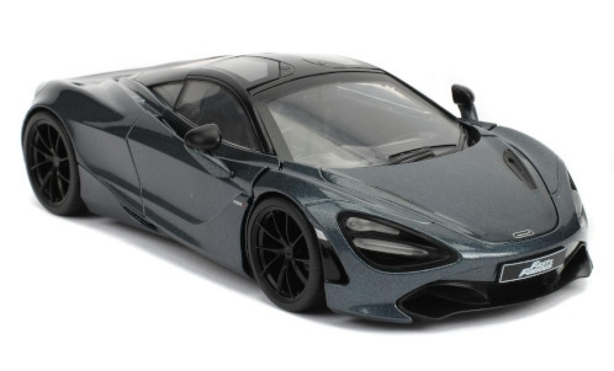 McLaren 720 1/24 Jada S metallise grise/noire RHD Fast & Furious