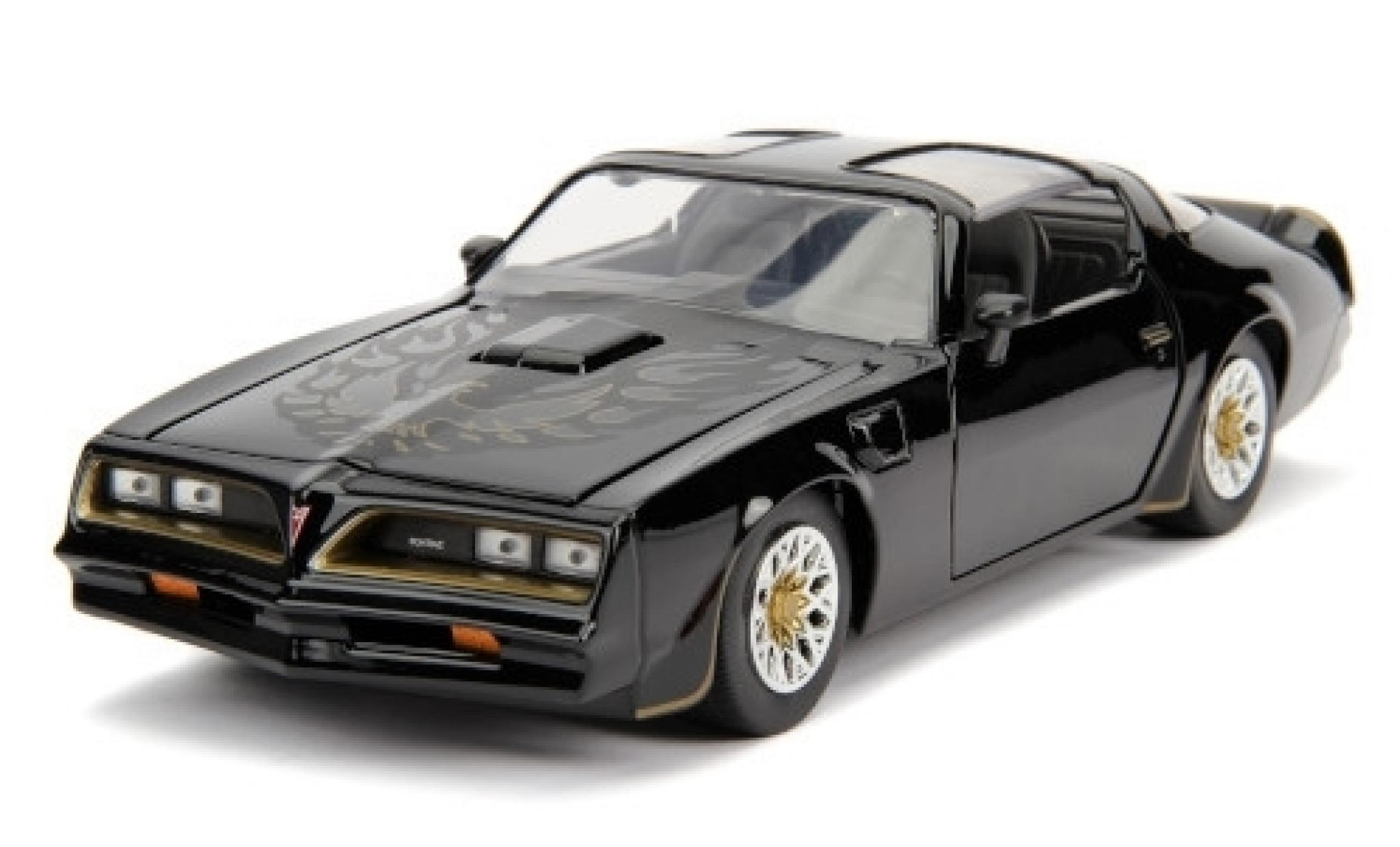 Pontiac Firebird 1/24 Jada noire/Dekor Fast & Furious
