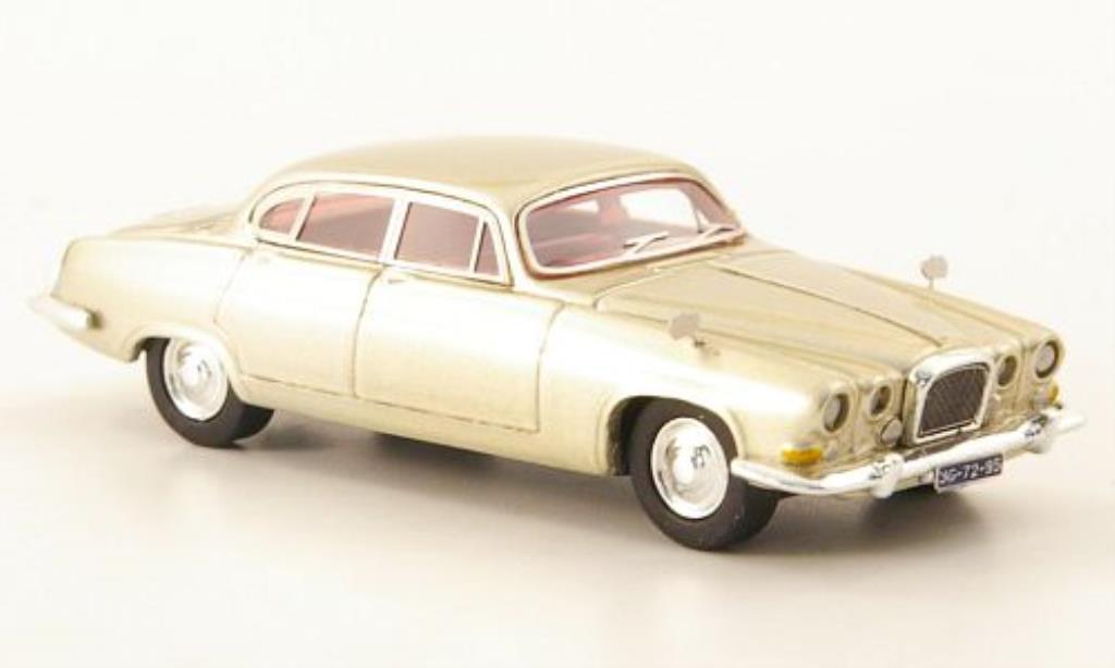 Jaguar MK 10 1/87 Neo beige 1961 miniature