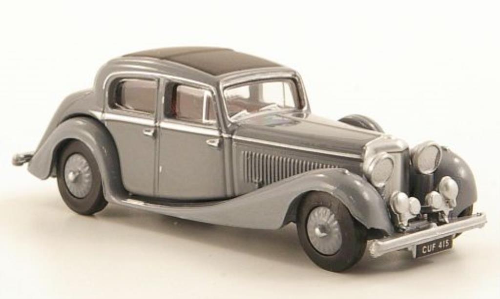 Jaguar SS 1/76 Oxford 2.5 litre grise 1937 miniature