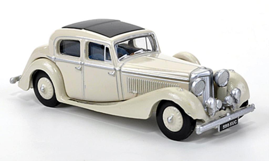 Jaguar SS 1/76 Oxford 2.5 litre beige 1937 miniature