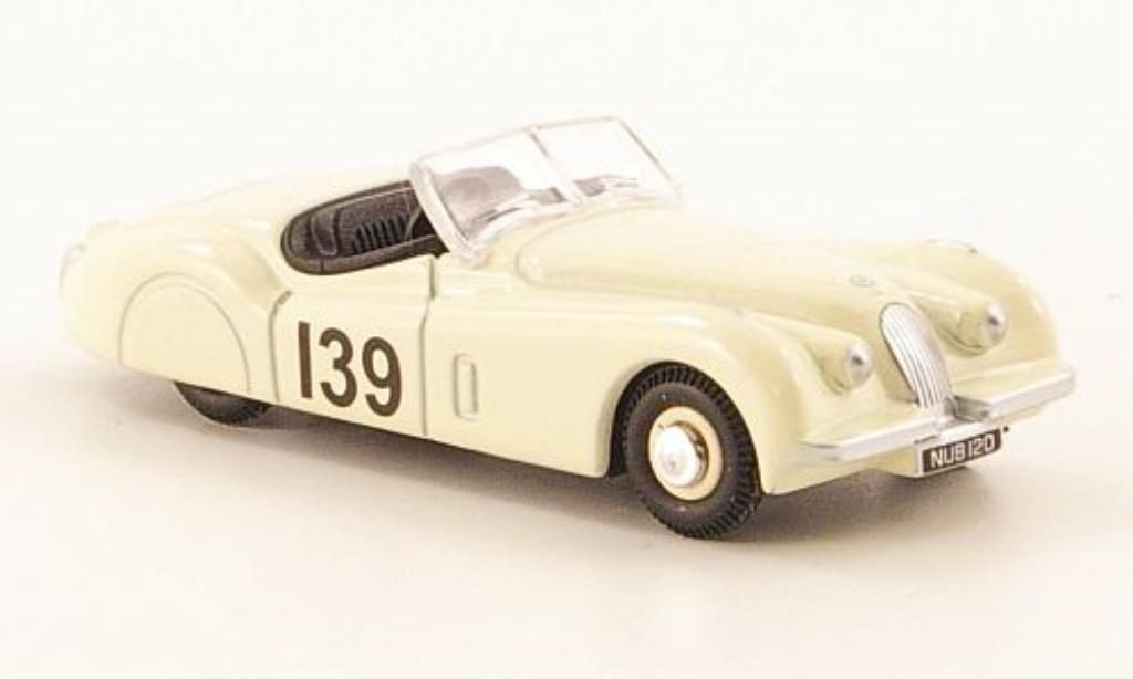 Jaguar XK 120 1/76 Oxford No.139 I.Appleyard miniature
