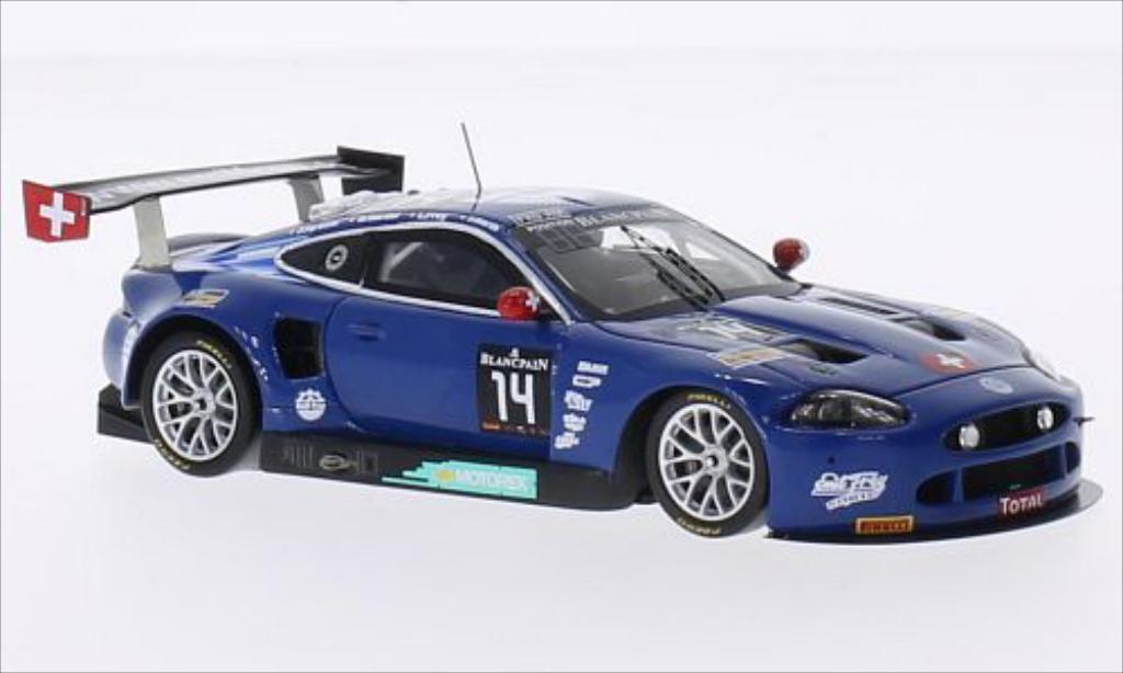 Jaguar XKR 1/43 Spark Emil Frey G3 No.14 Emil Frey Racing 24h Spa 2014 /J.Hirschi miniature