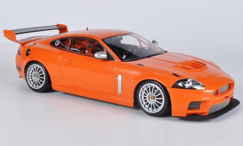 Jaguar XKR GT3 1/18 Minichamps orange 2008 miniature