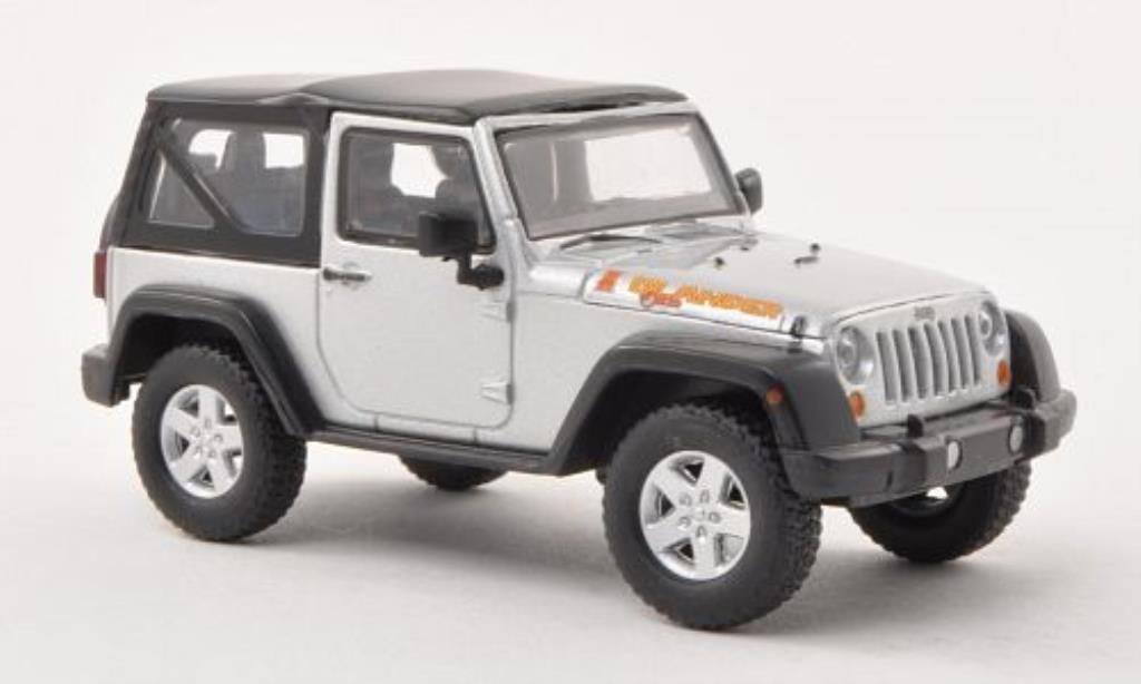 Jeep Wrangler 1/43 Greenlight Islander Edition grise 2010 miniature