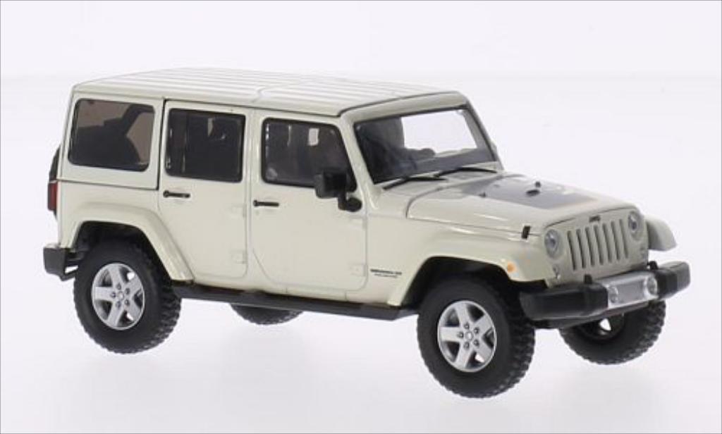 Jeep Wrangler 1/43 Greenlight Unlimited beige 2011 miniature