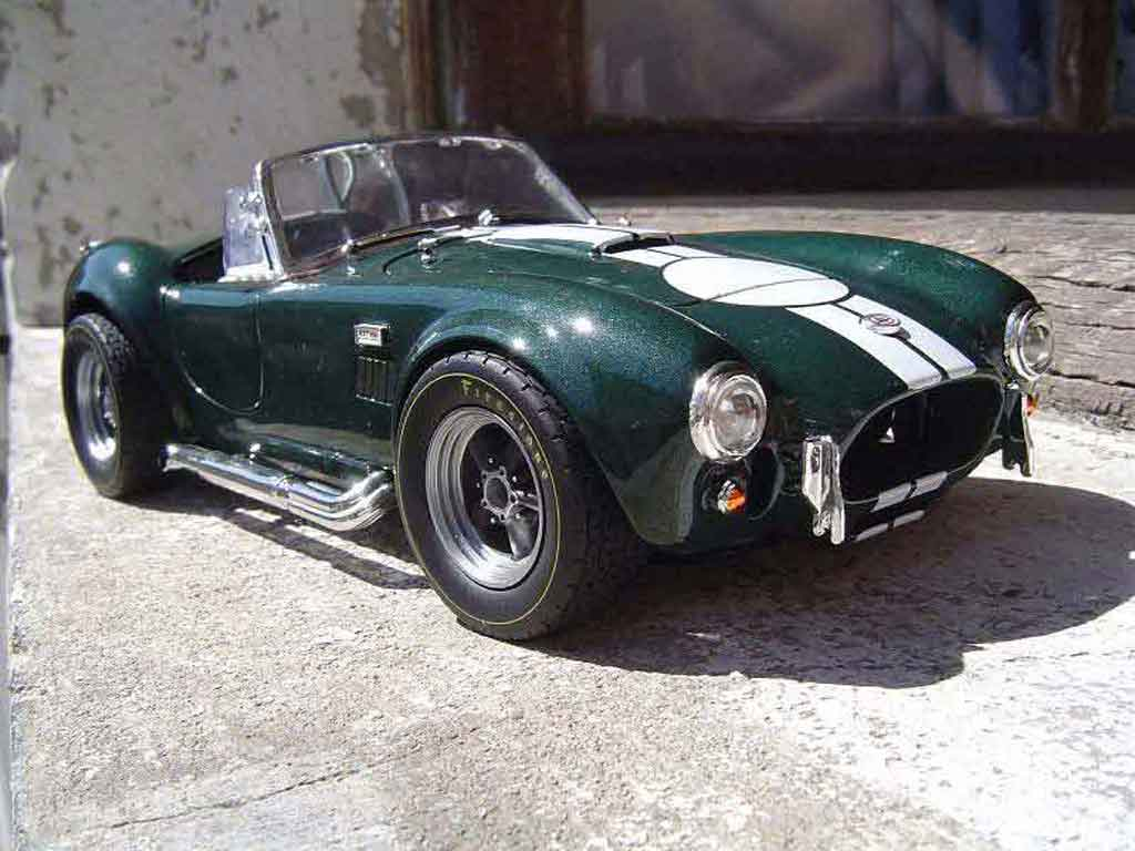 Shelby Ac Cobra 1/18 Yat Ming 427 s/c verte jantes gmp tuning miniature