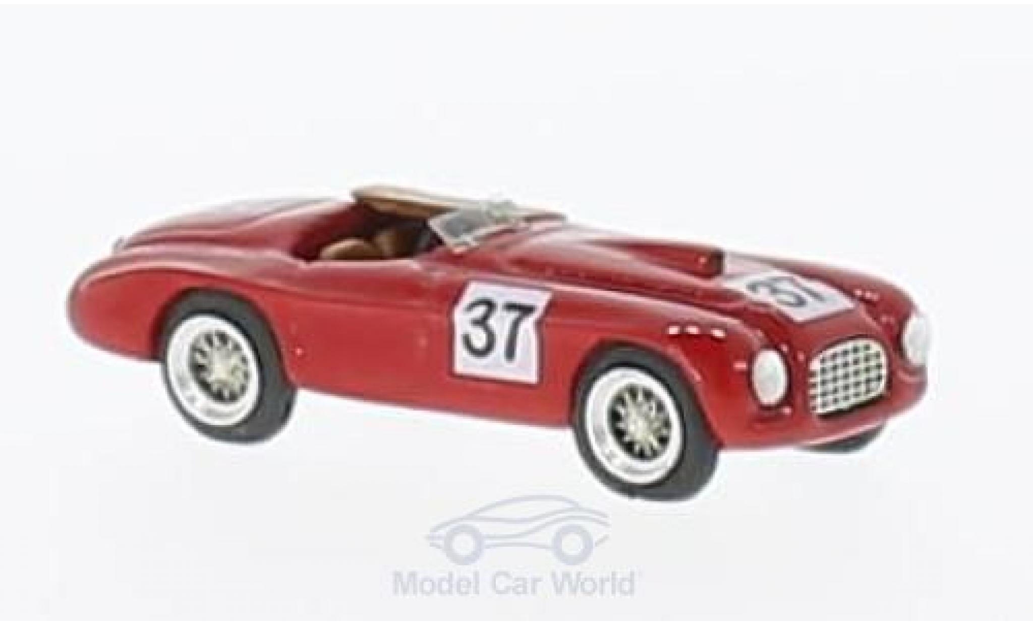 Ferrari 166 1950 1/87 Jolly Model MM No.37 Silverstone 1950 D.Derafini
