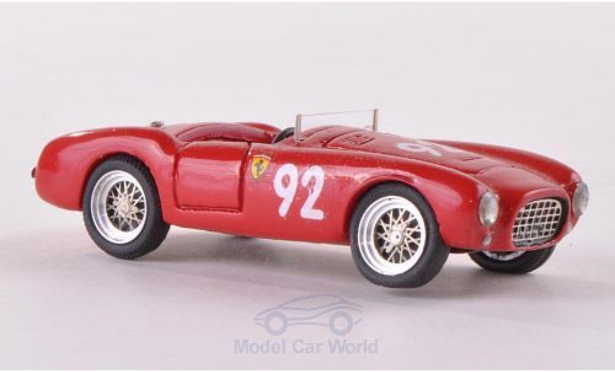 Ferrari 225 1/87 Jolly Model S Vignale No.92 Coppa Dolomiti 1952 ohne Vitrine