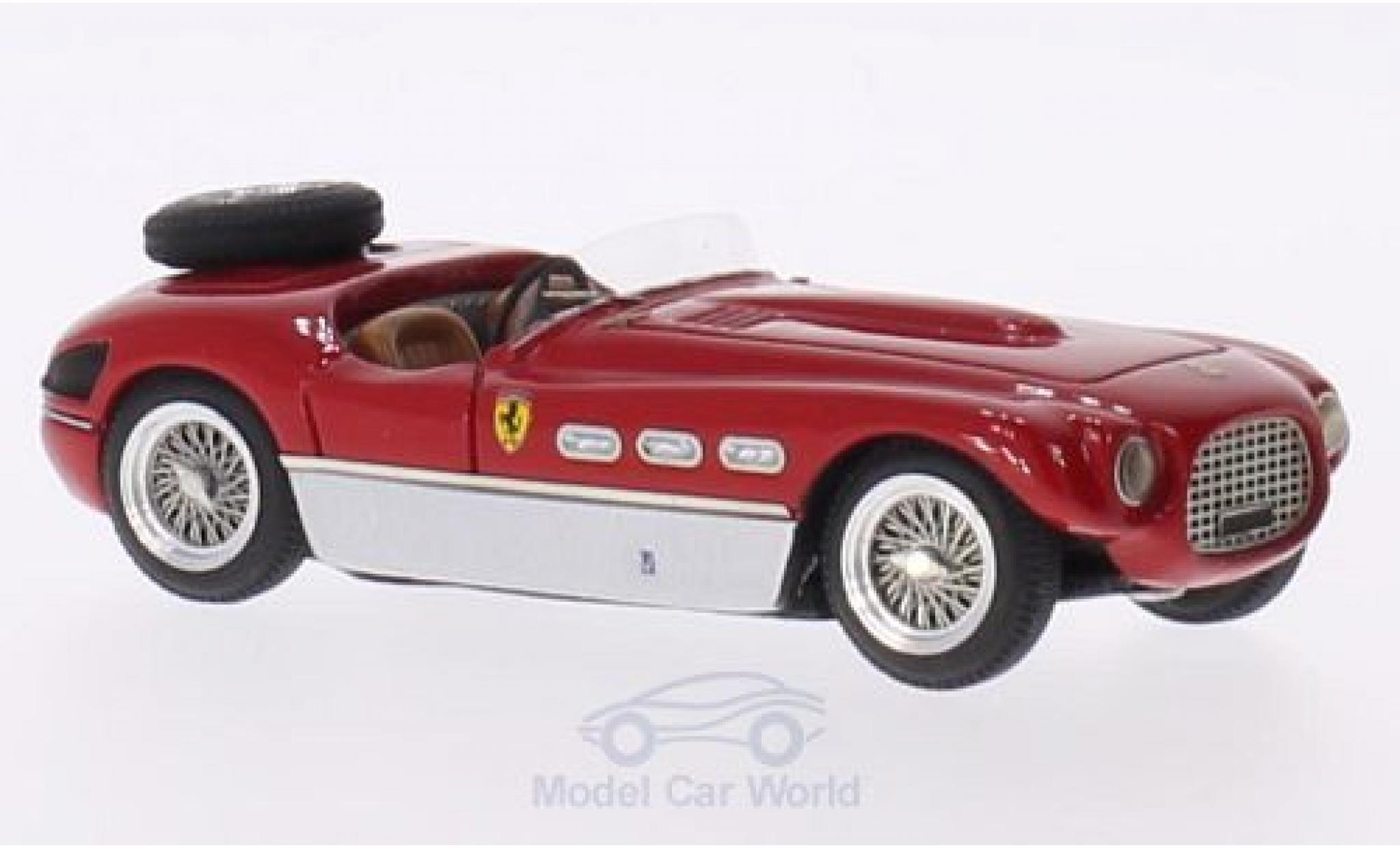 Ferrari 340 1/43 Jolly Model Spyder Vignale rot/silber RHD 1953